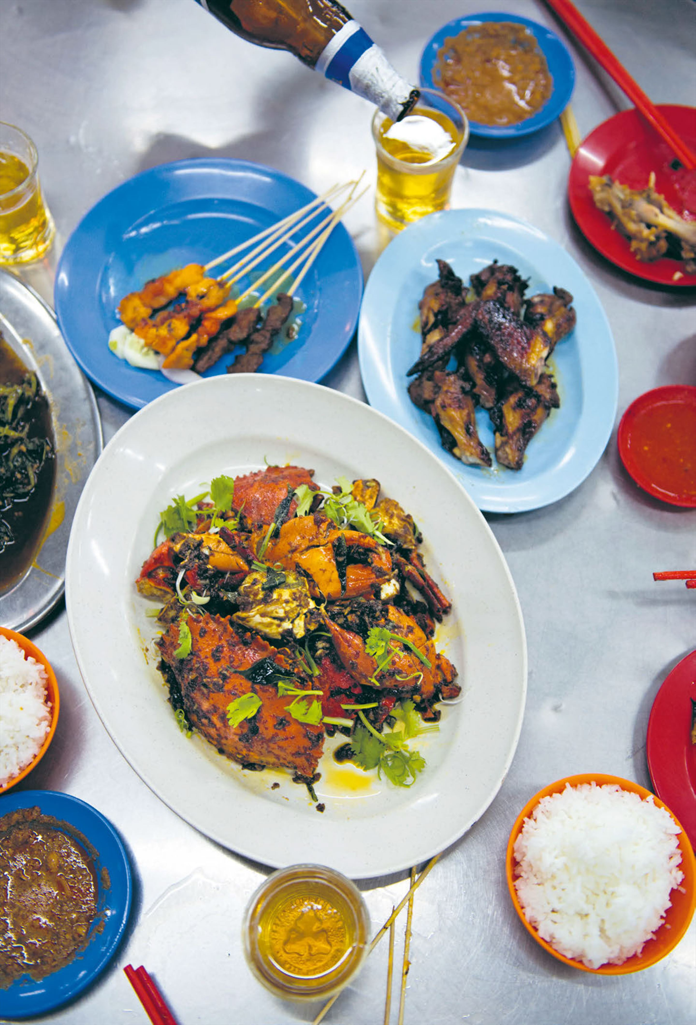 Wok-tossed fragrant mud crab