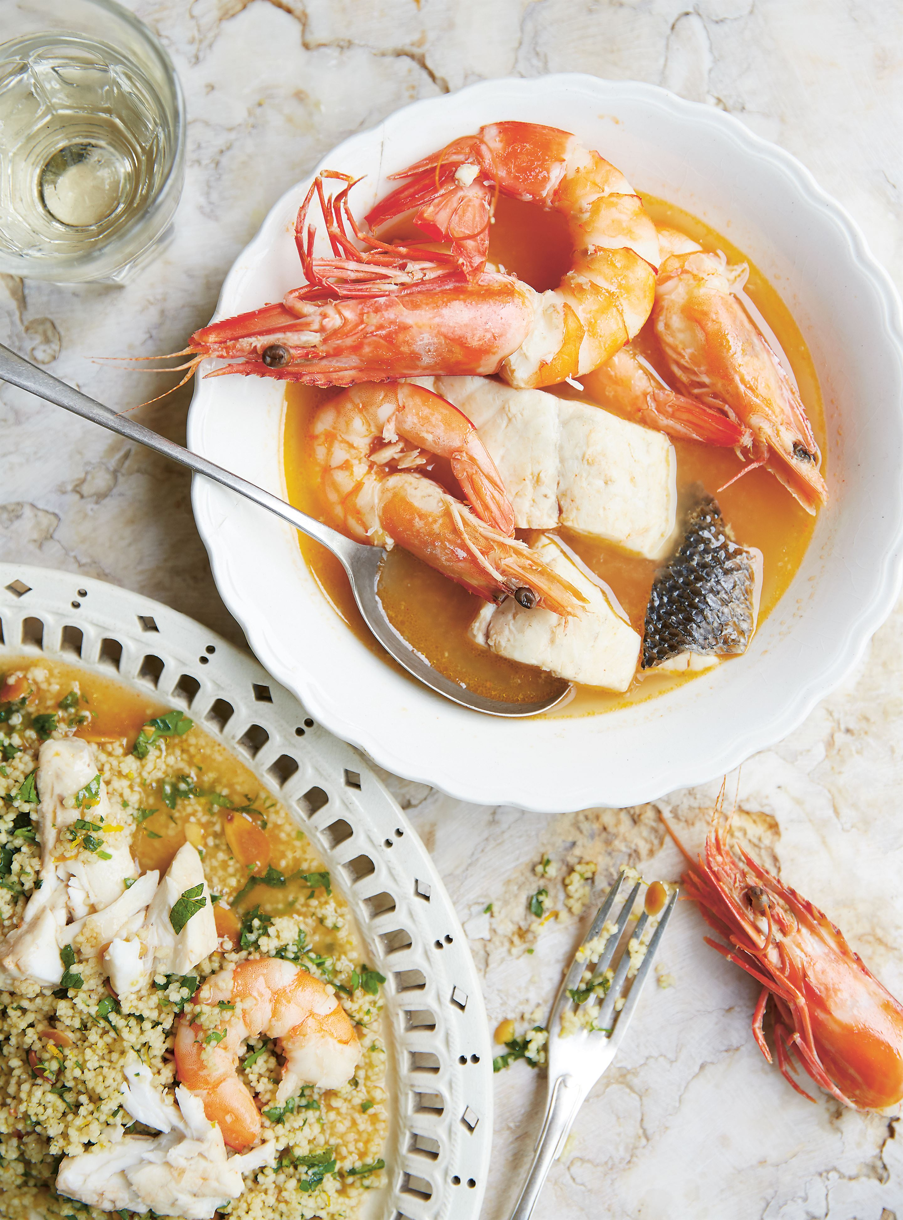 Fish & shellfish couscous