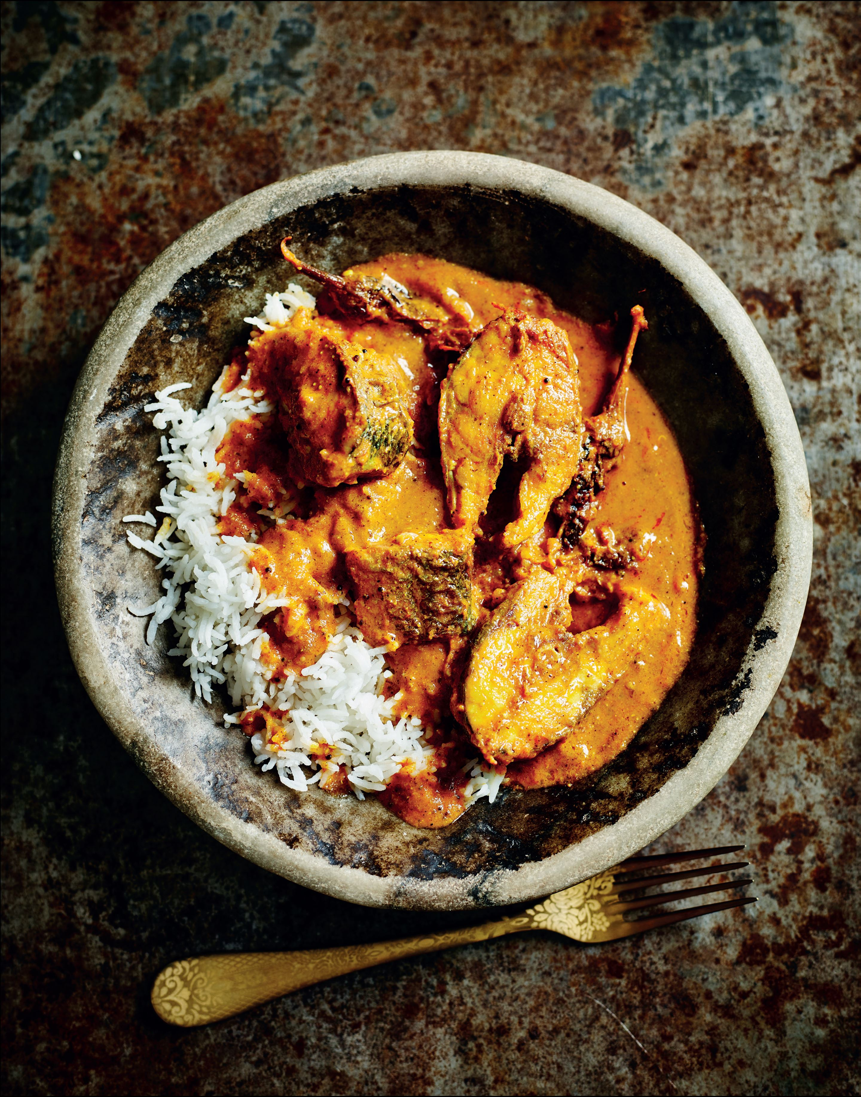 Dad's fish curry