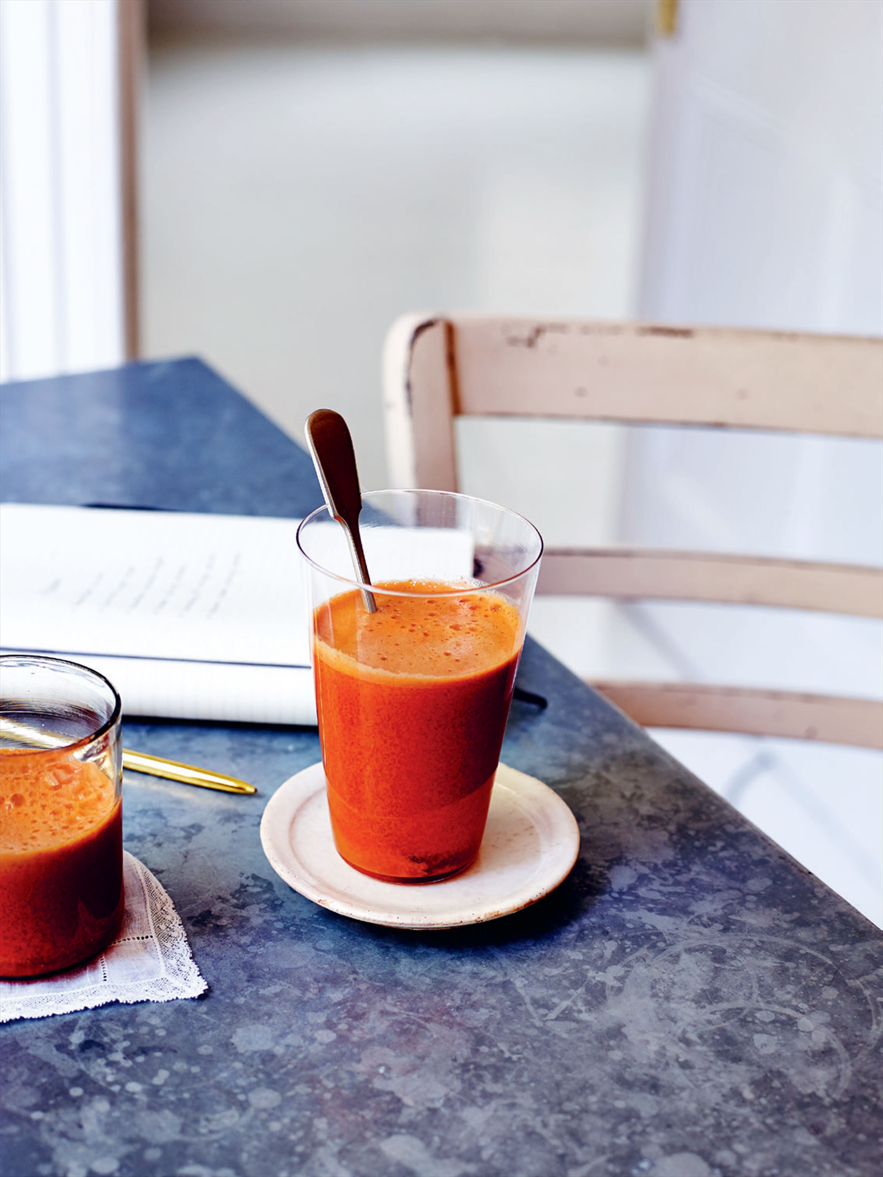 Carrot and ginger zinger
