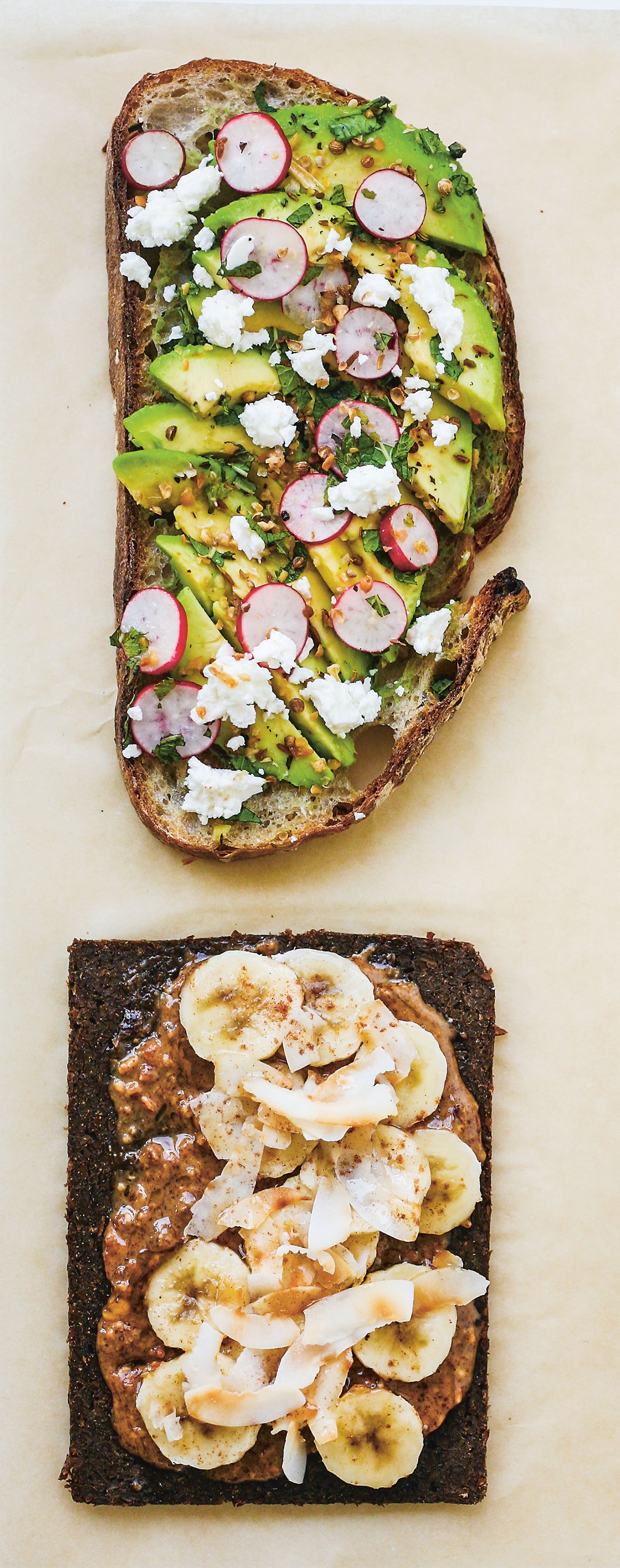 The open sandwich