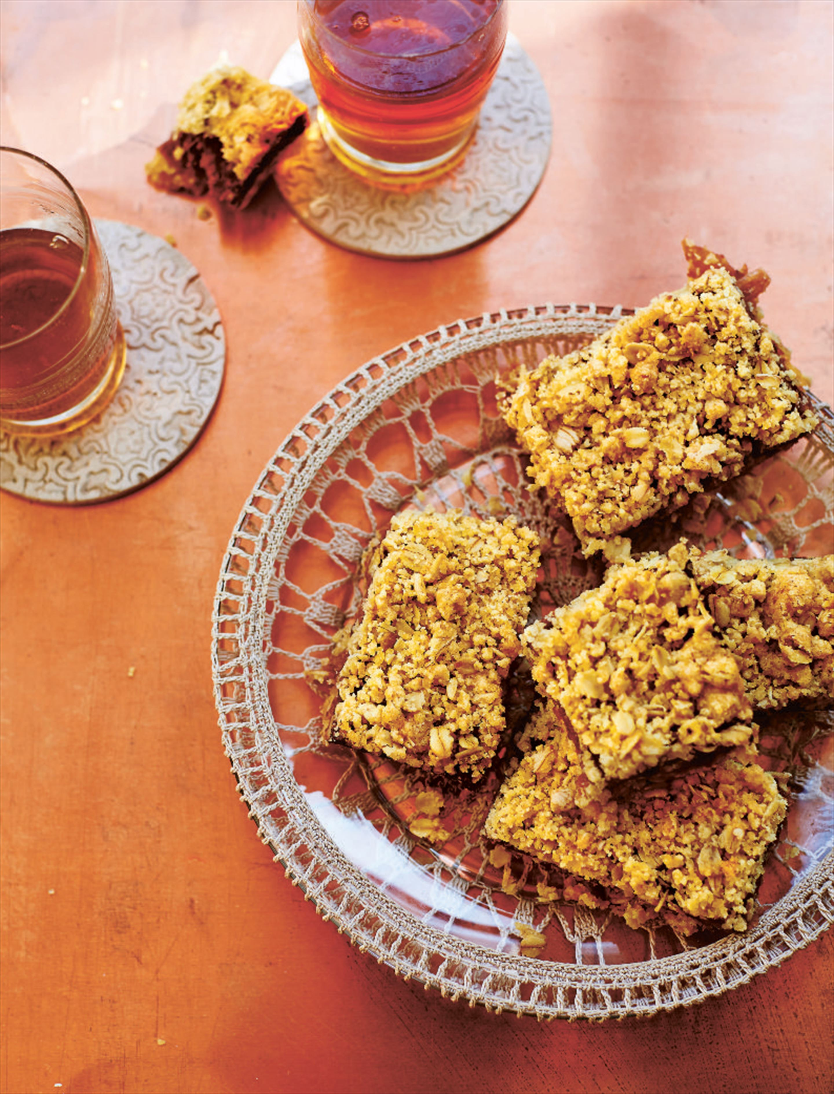 Date and walnut squares