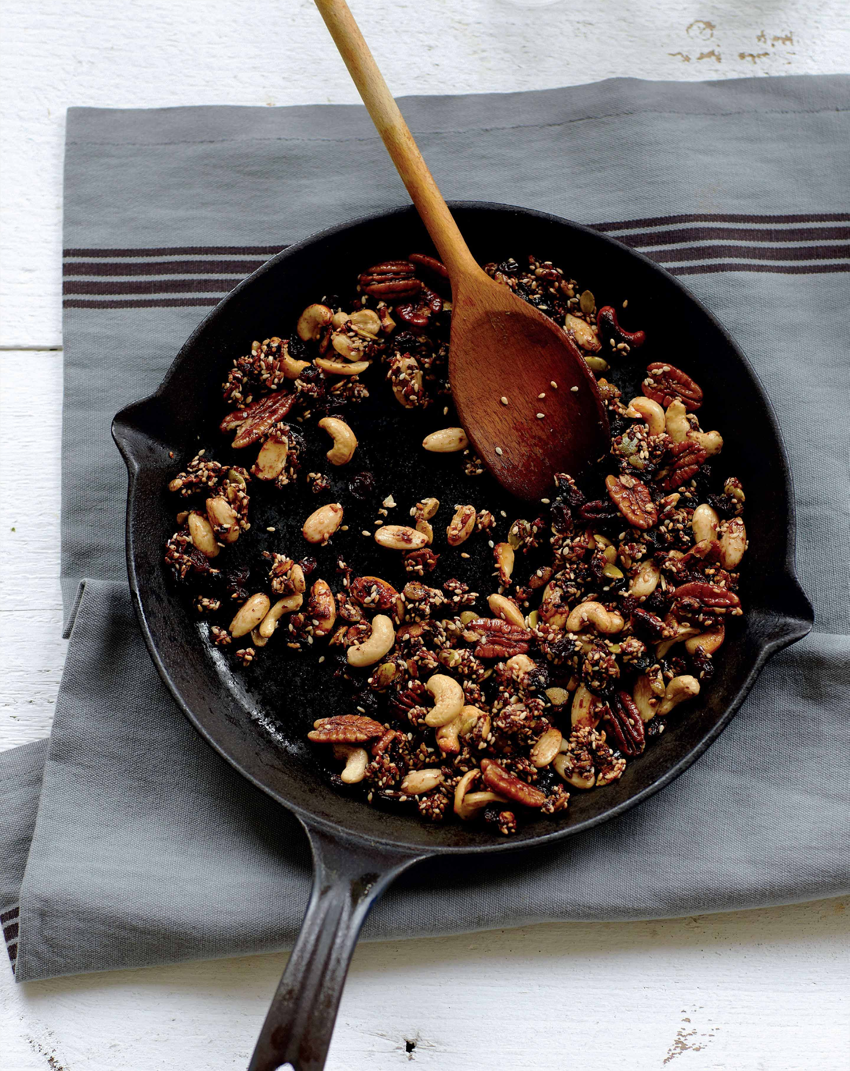 Chocolate and coconut granola