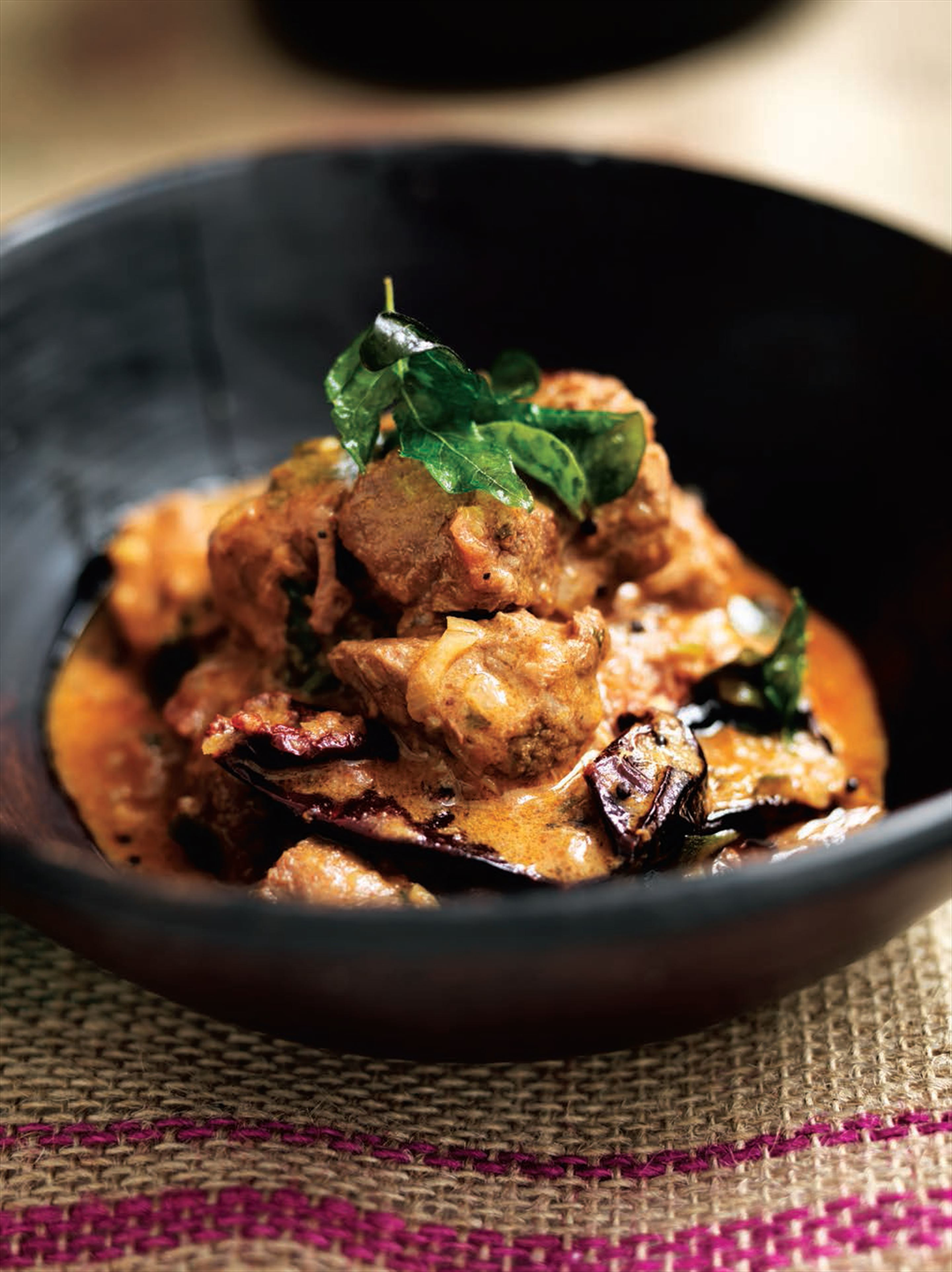 Meat coconut curry (South India)