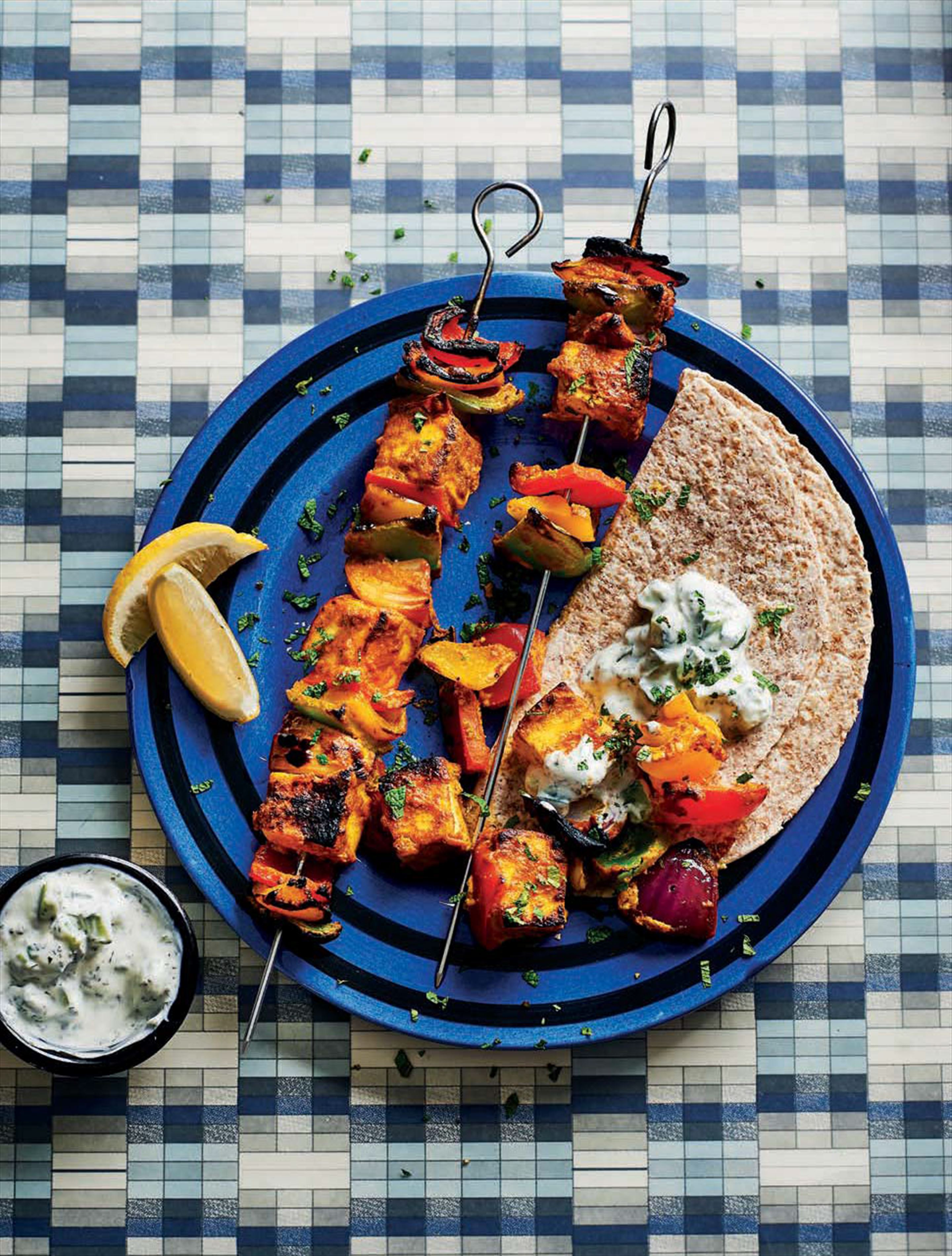 Tandoori paneer & mixed peppers