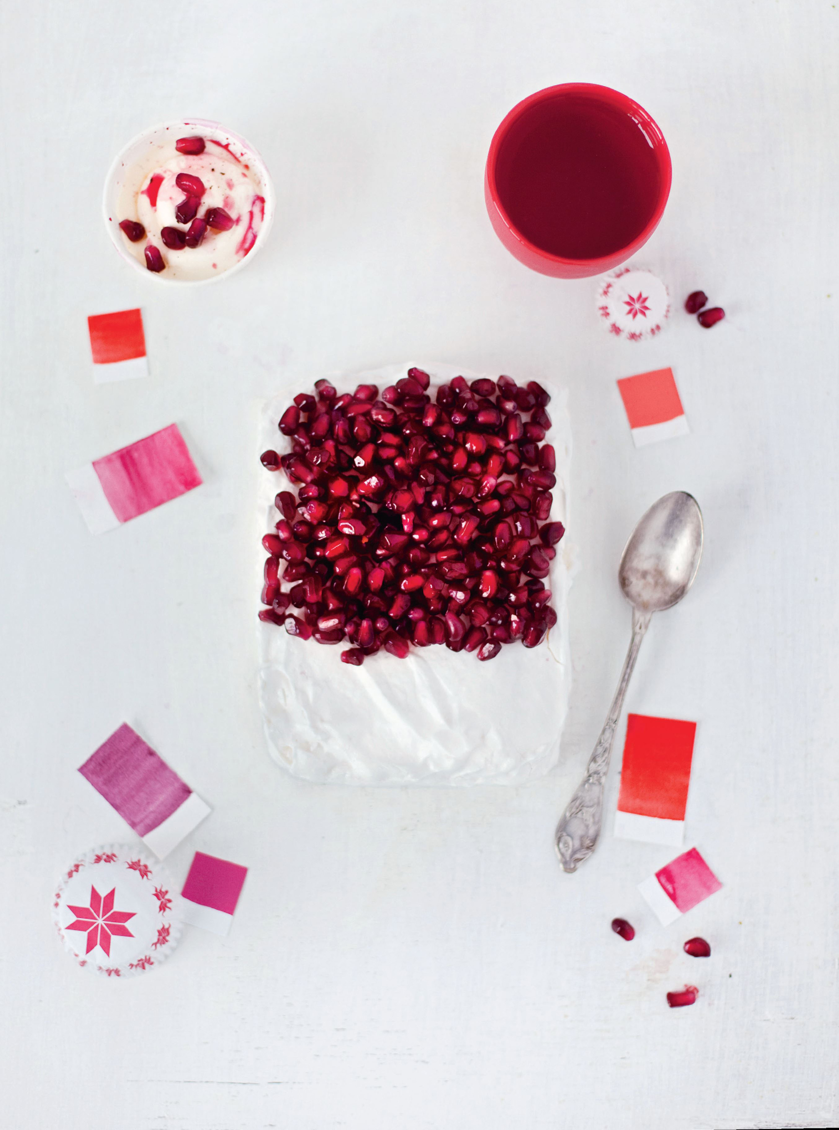 Pomegranate – meringue