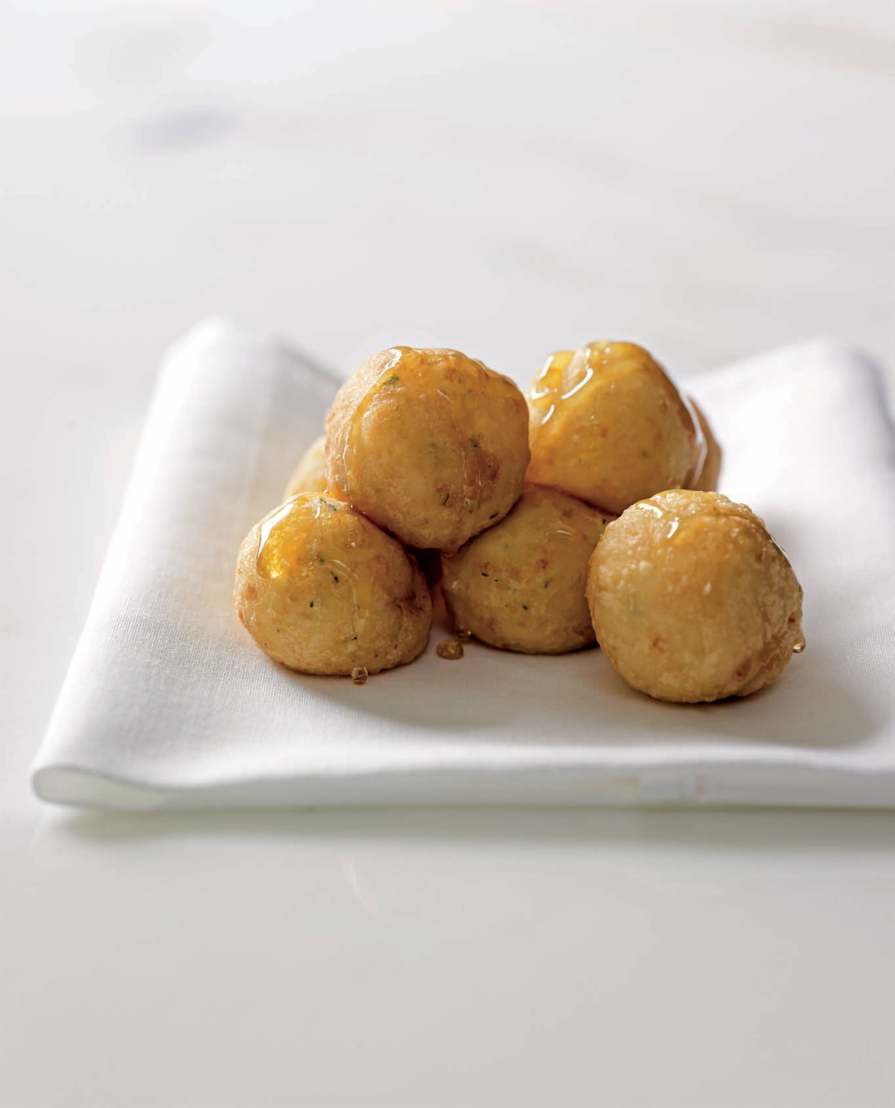 Greek leek croquettes