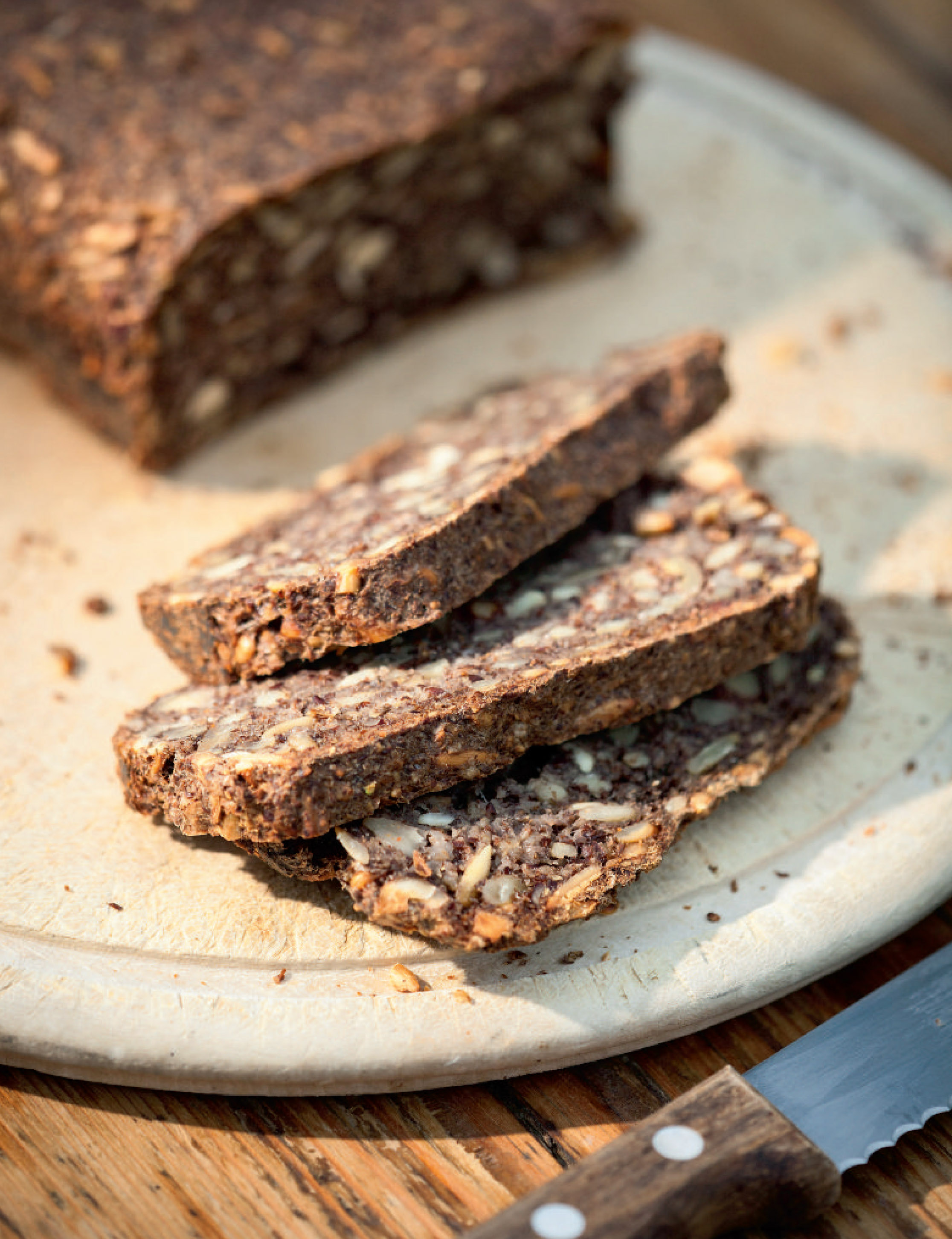 Seed and nut protein bread