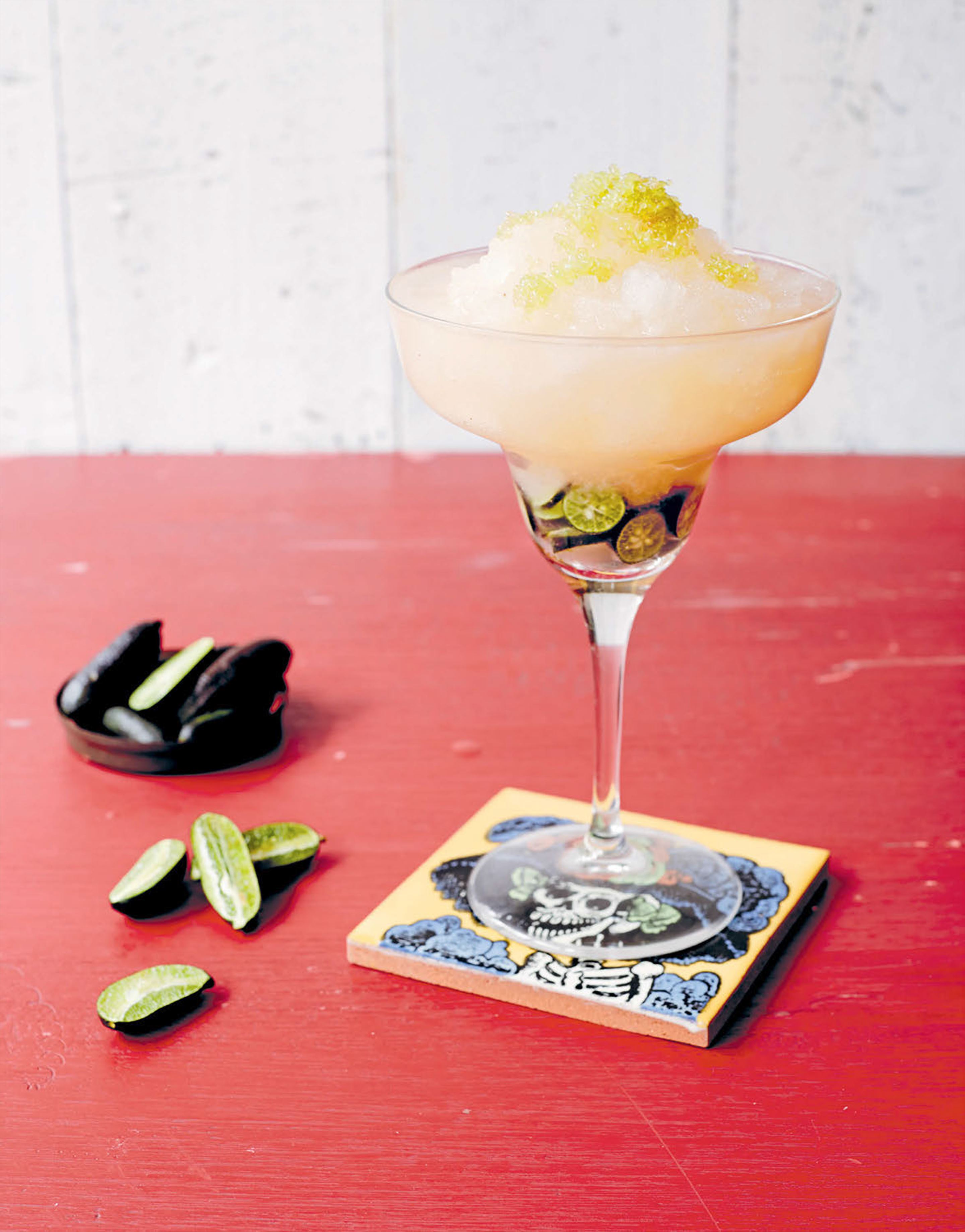 Frozen finger lime margarita
