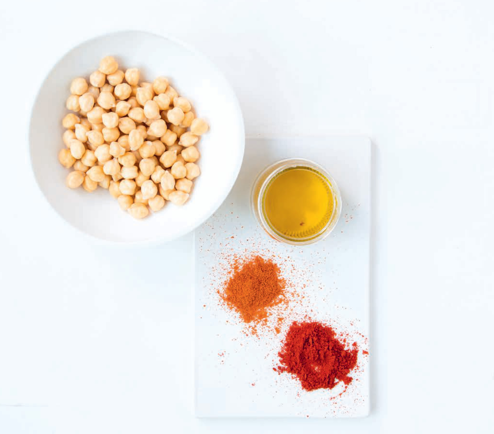 Spicy chickpeas