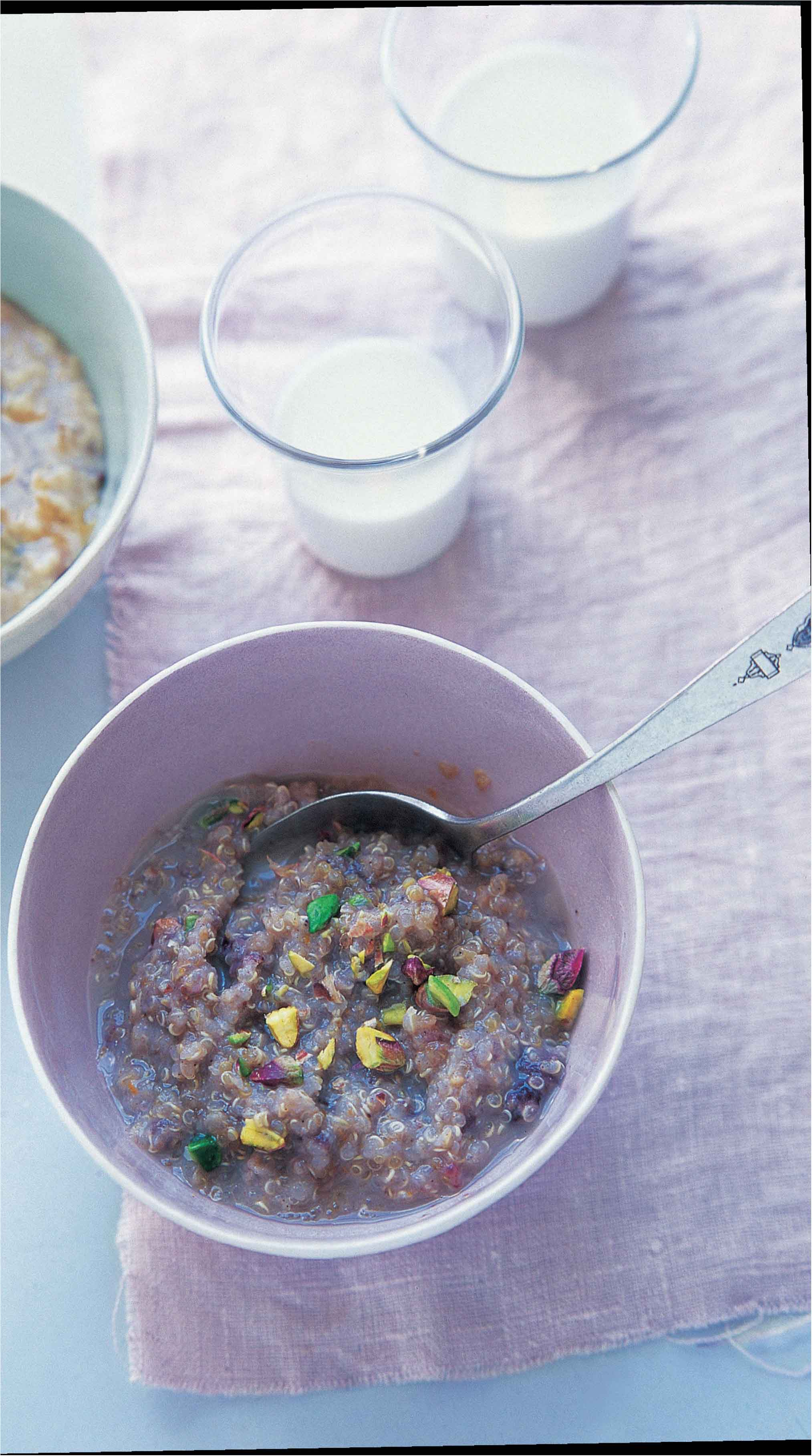 Quinoa and sweet spice porridge