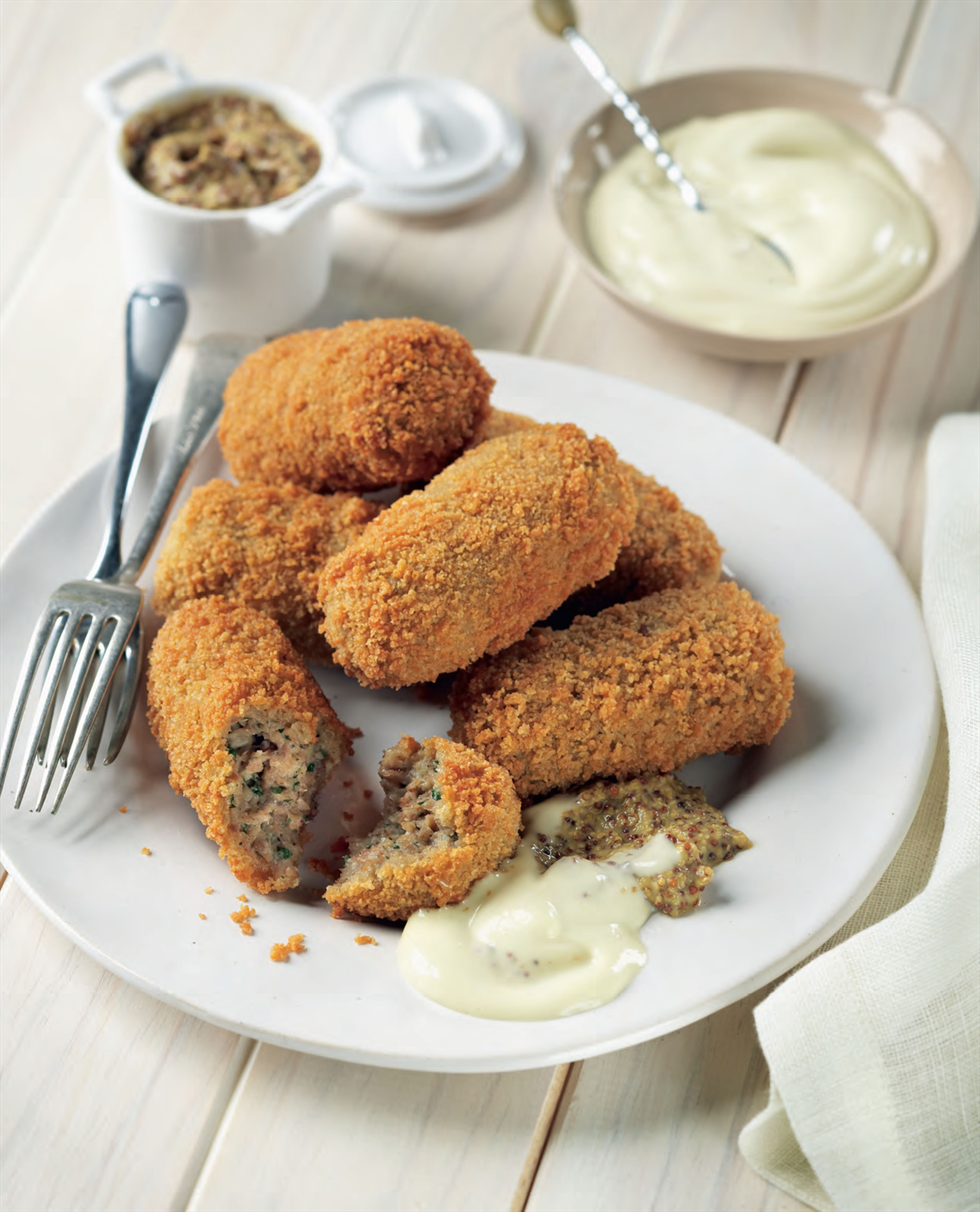 Oma's Dutch croquettes