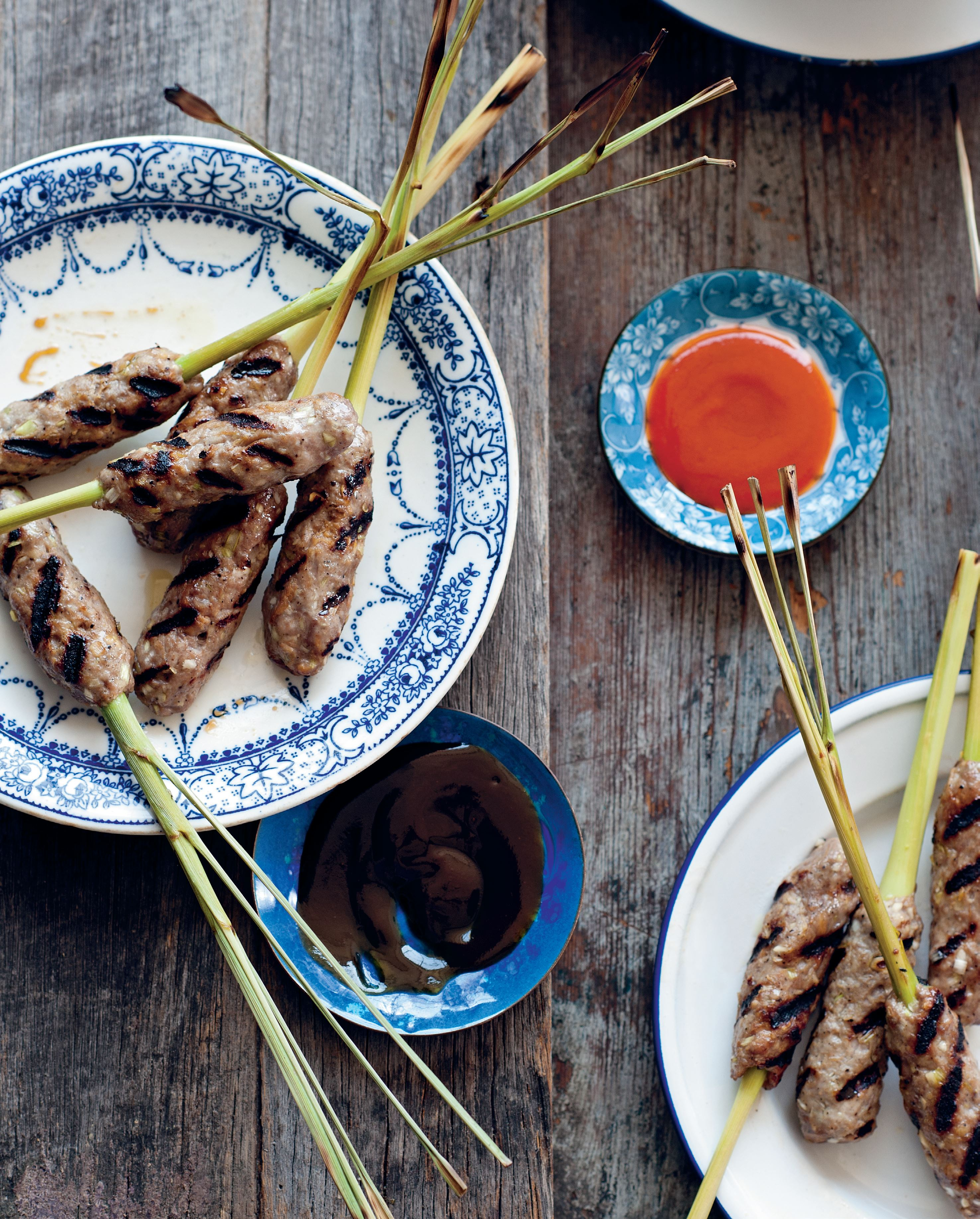 Hue lemongrass skewers