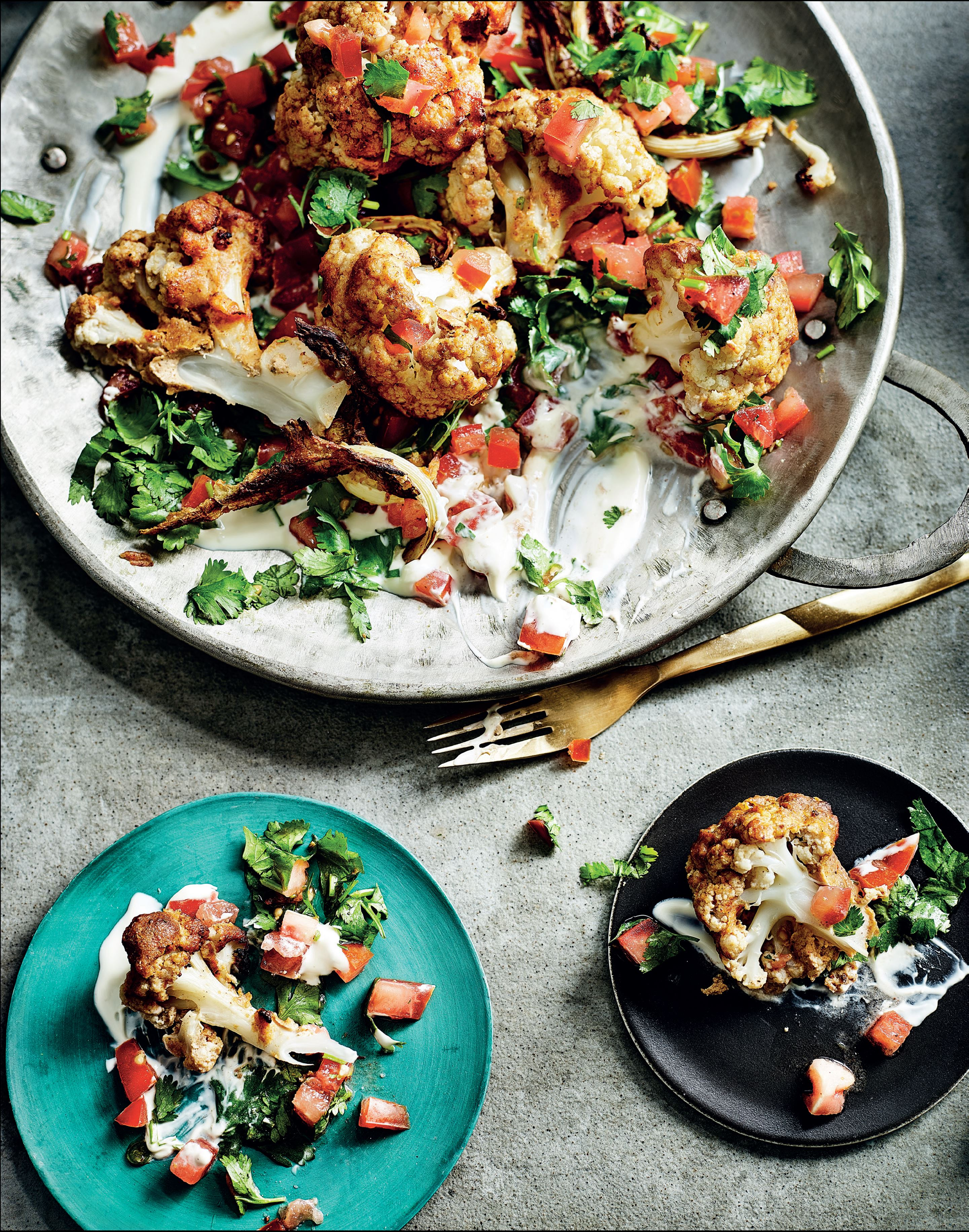 Tandoori cauliflower, my way