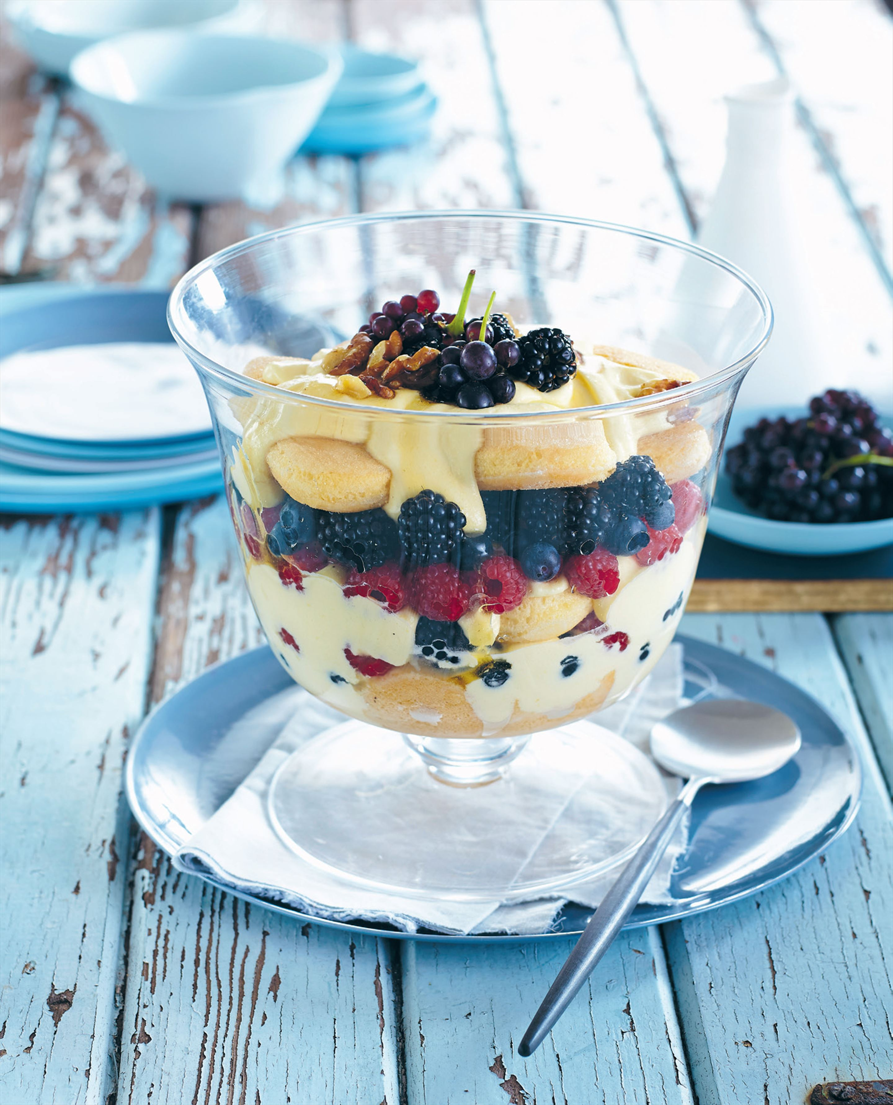 Very berry trifle