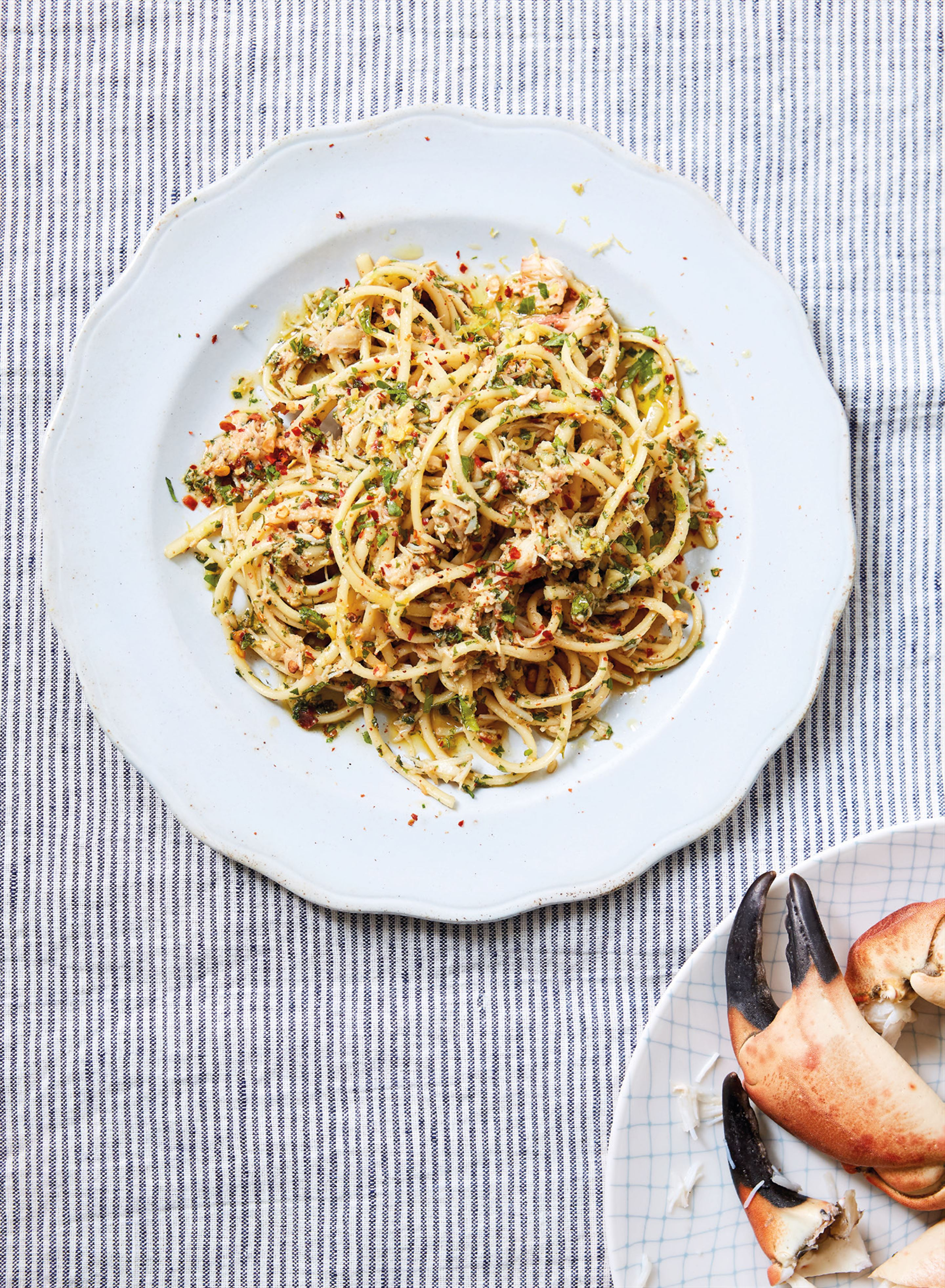 Richard's crab linguine