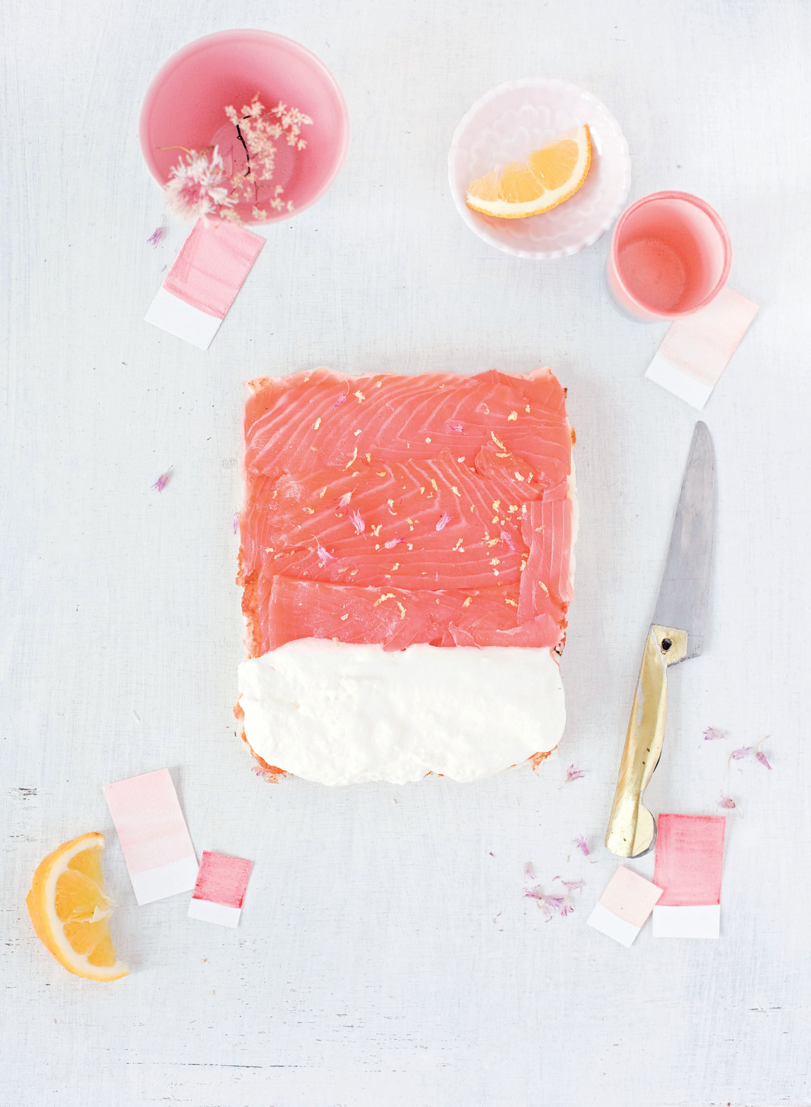Salmon – lemon