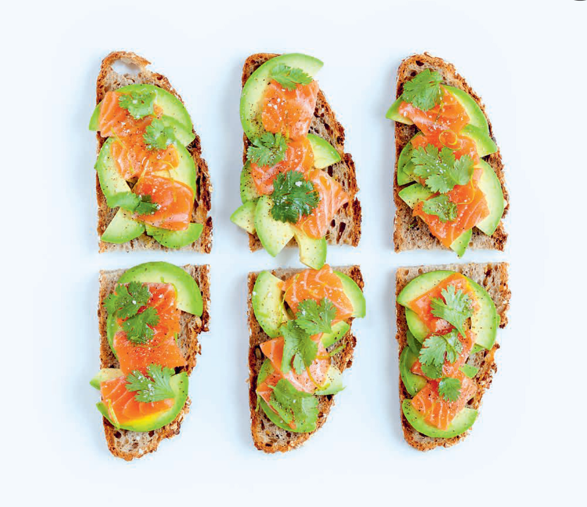 Salmon & avocado