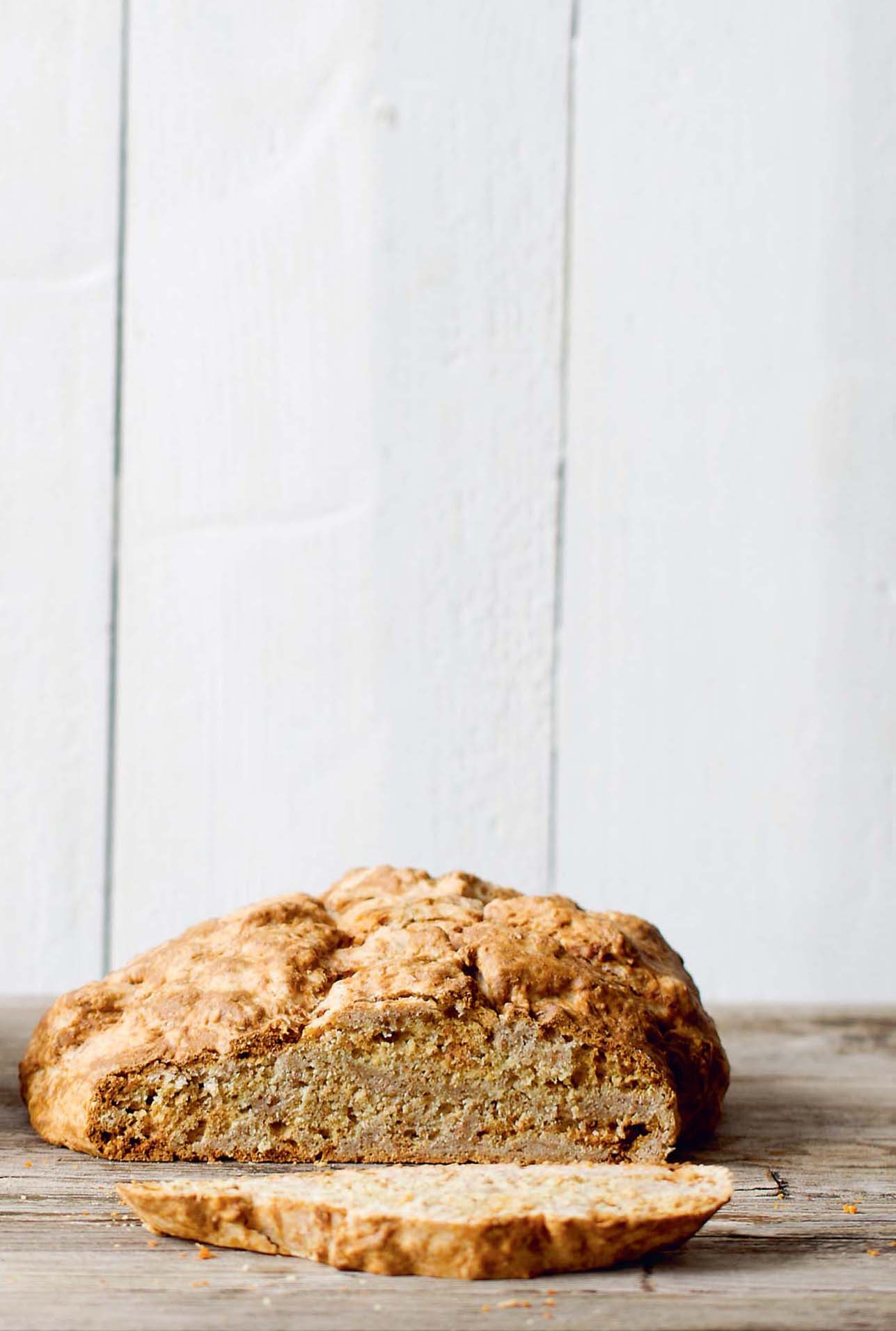 Speedy soda bread