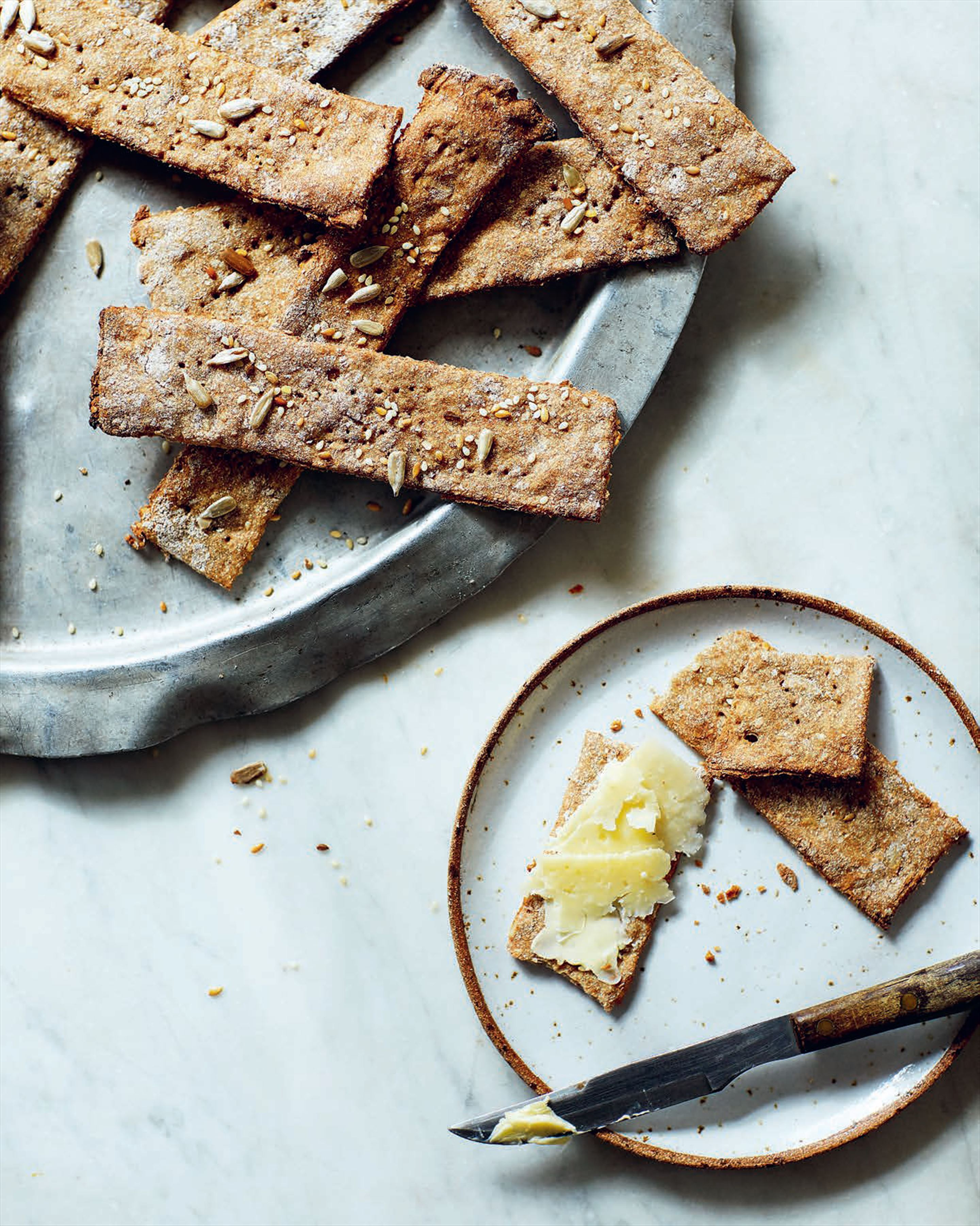 Rye crispbreads to have with anything & everything