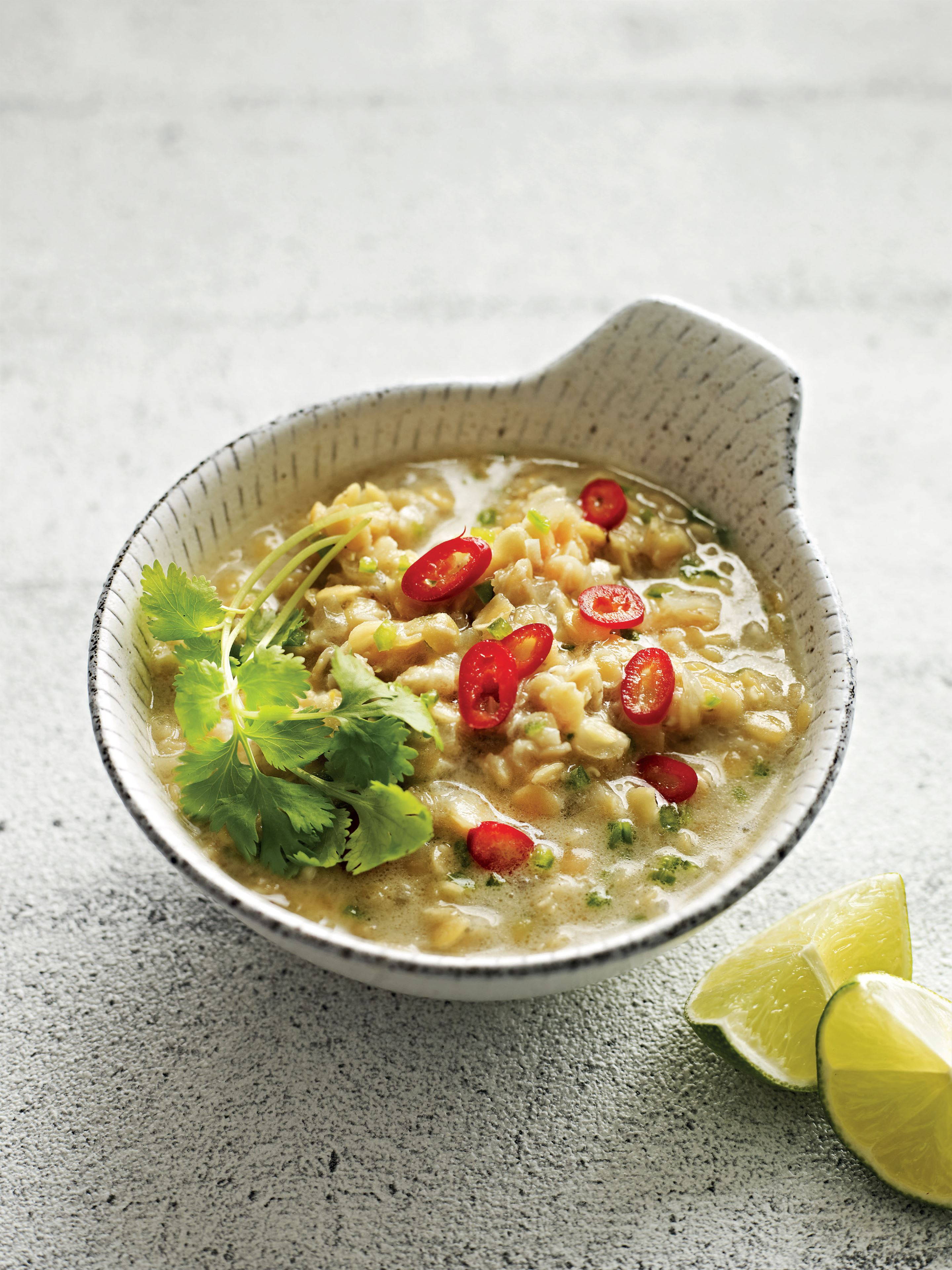 Spicy coconut dhal