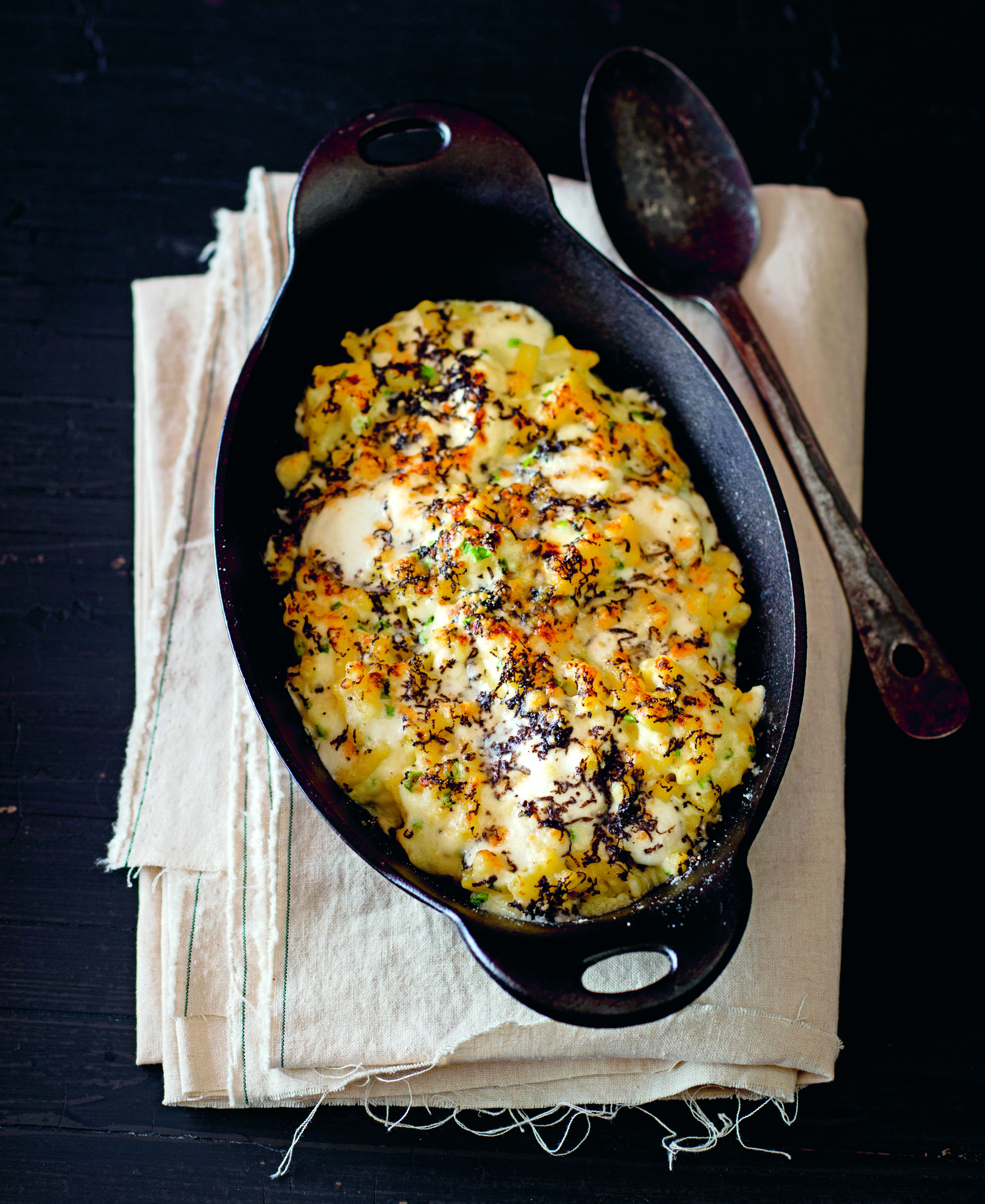 Truffle macaroni and cheese