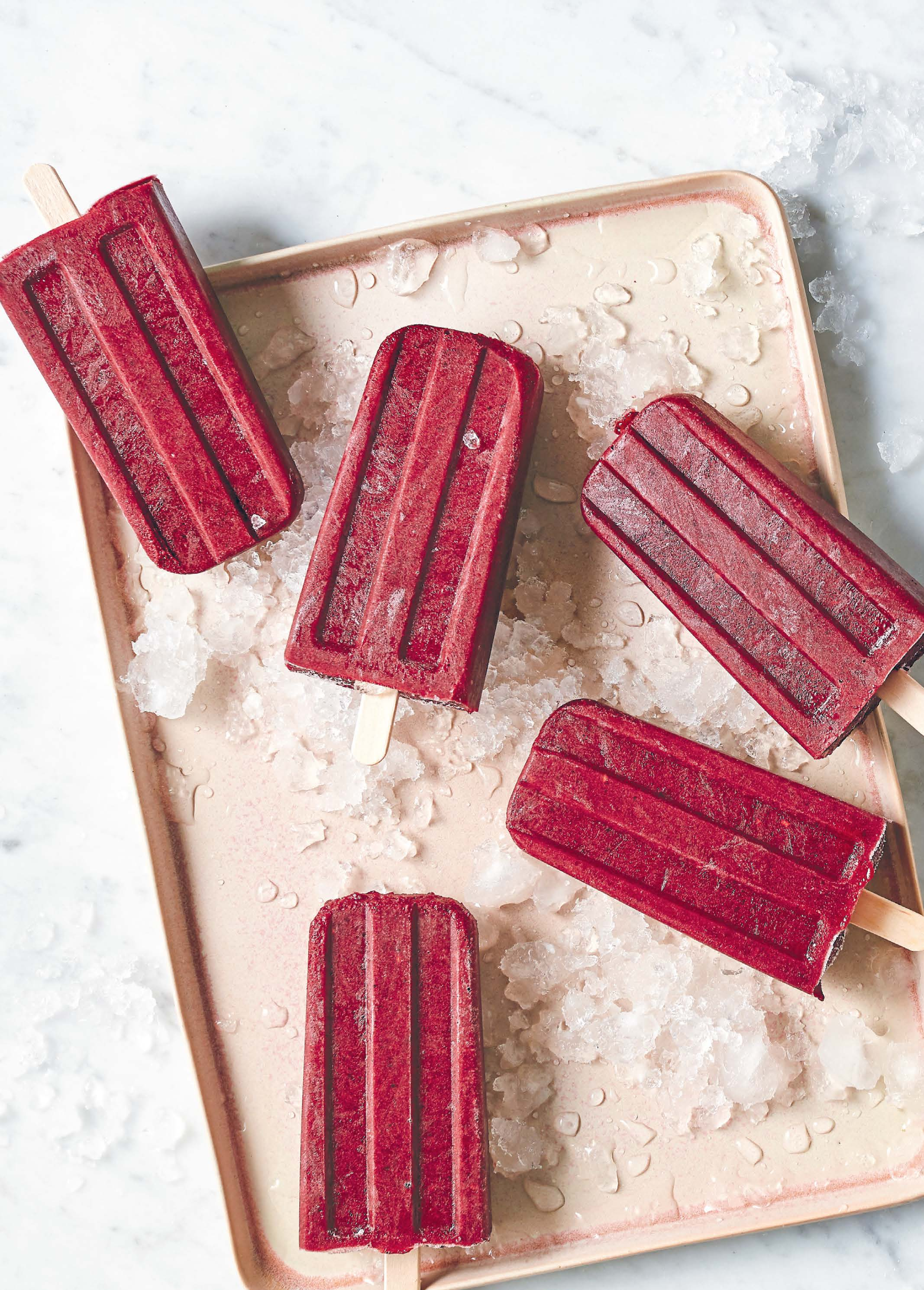 BERRY RED SUPERPOPS