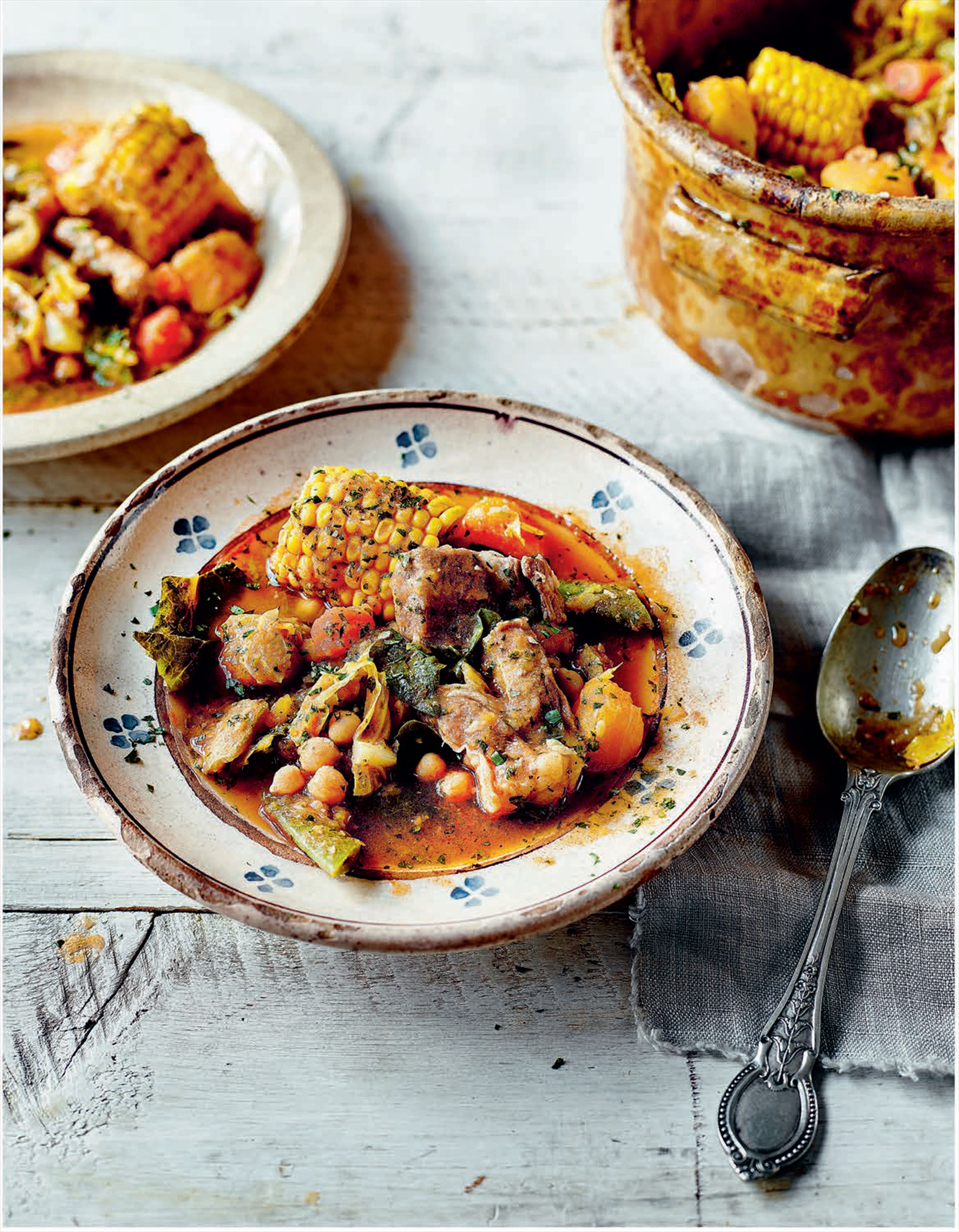 Canary Island meat and vegetable stew