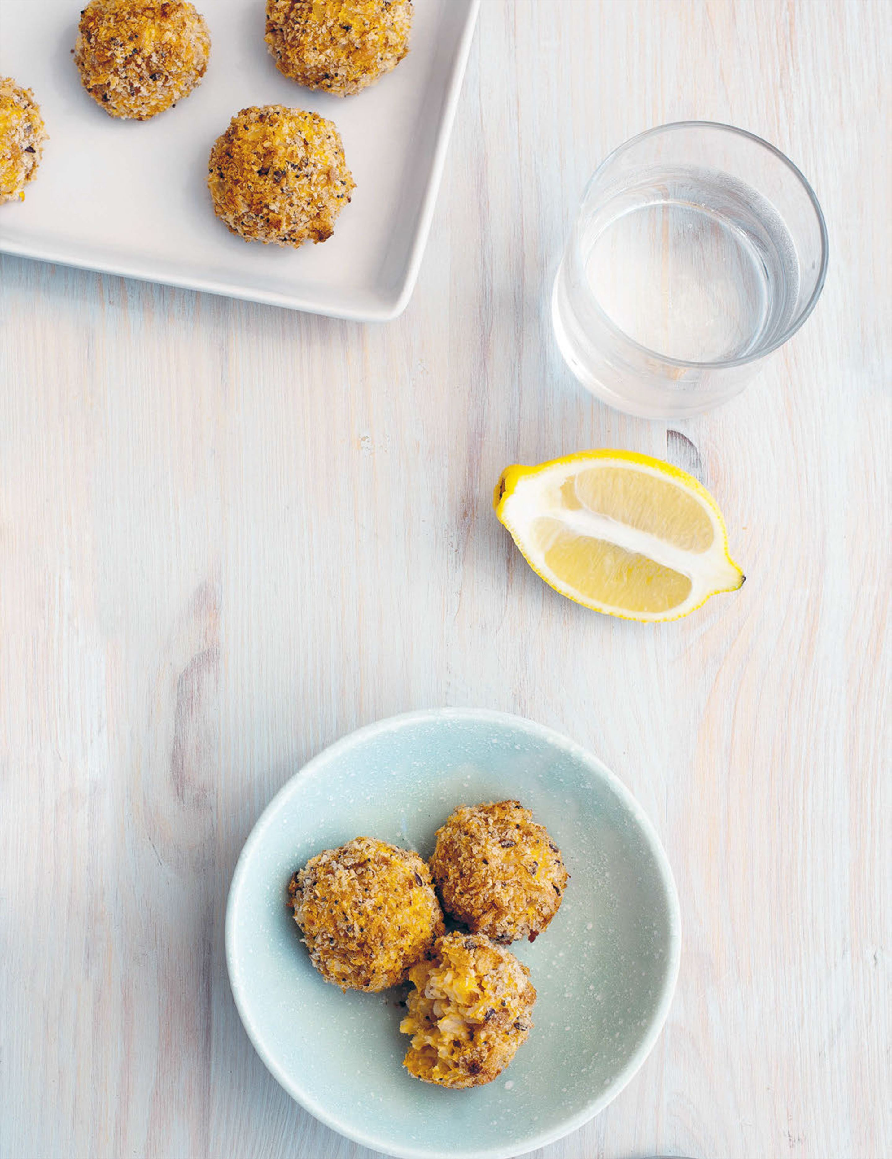 Sweet potato arancini balls
