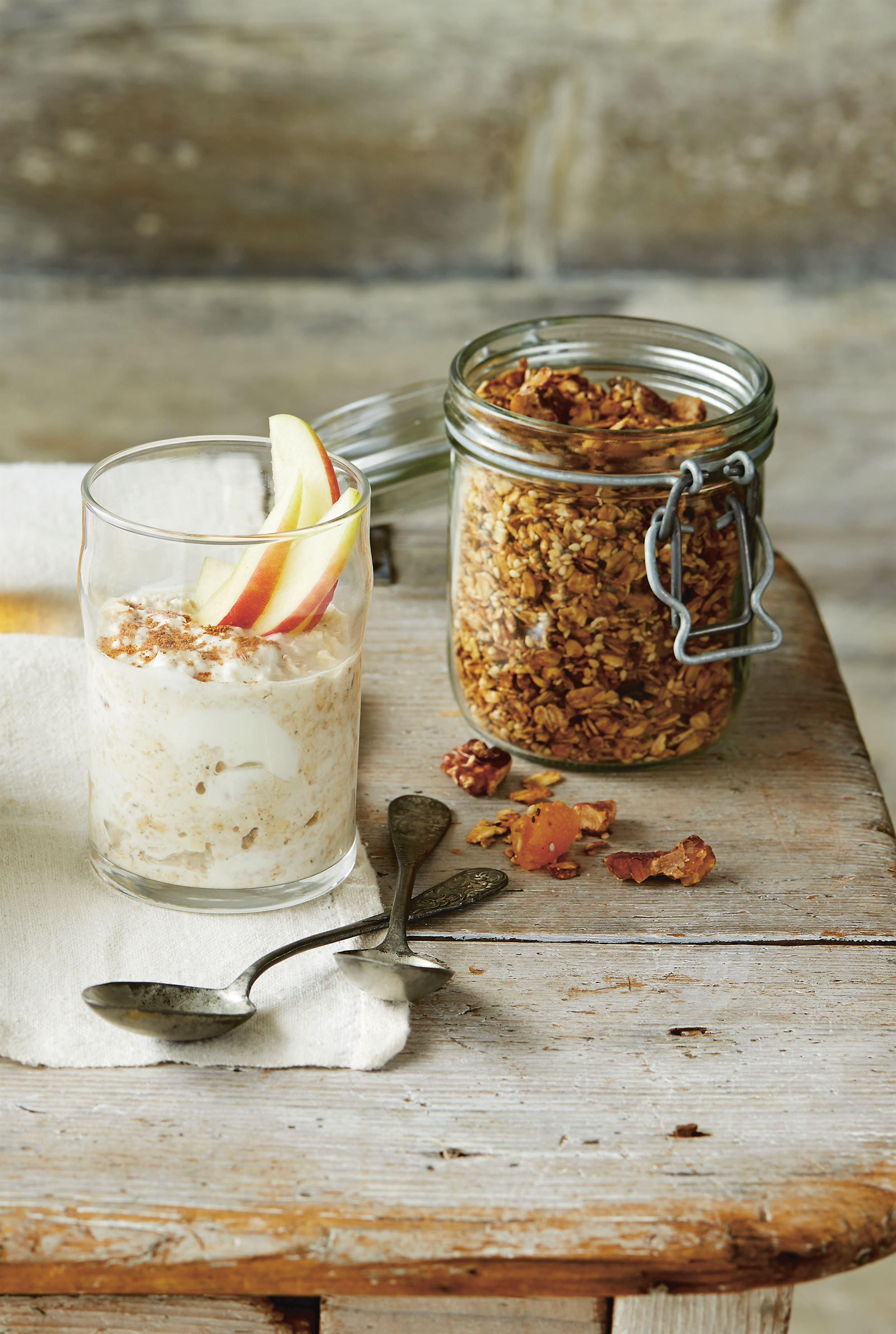 Nutty, seedy, fruity granola
