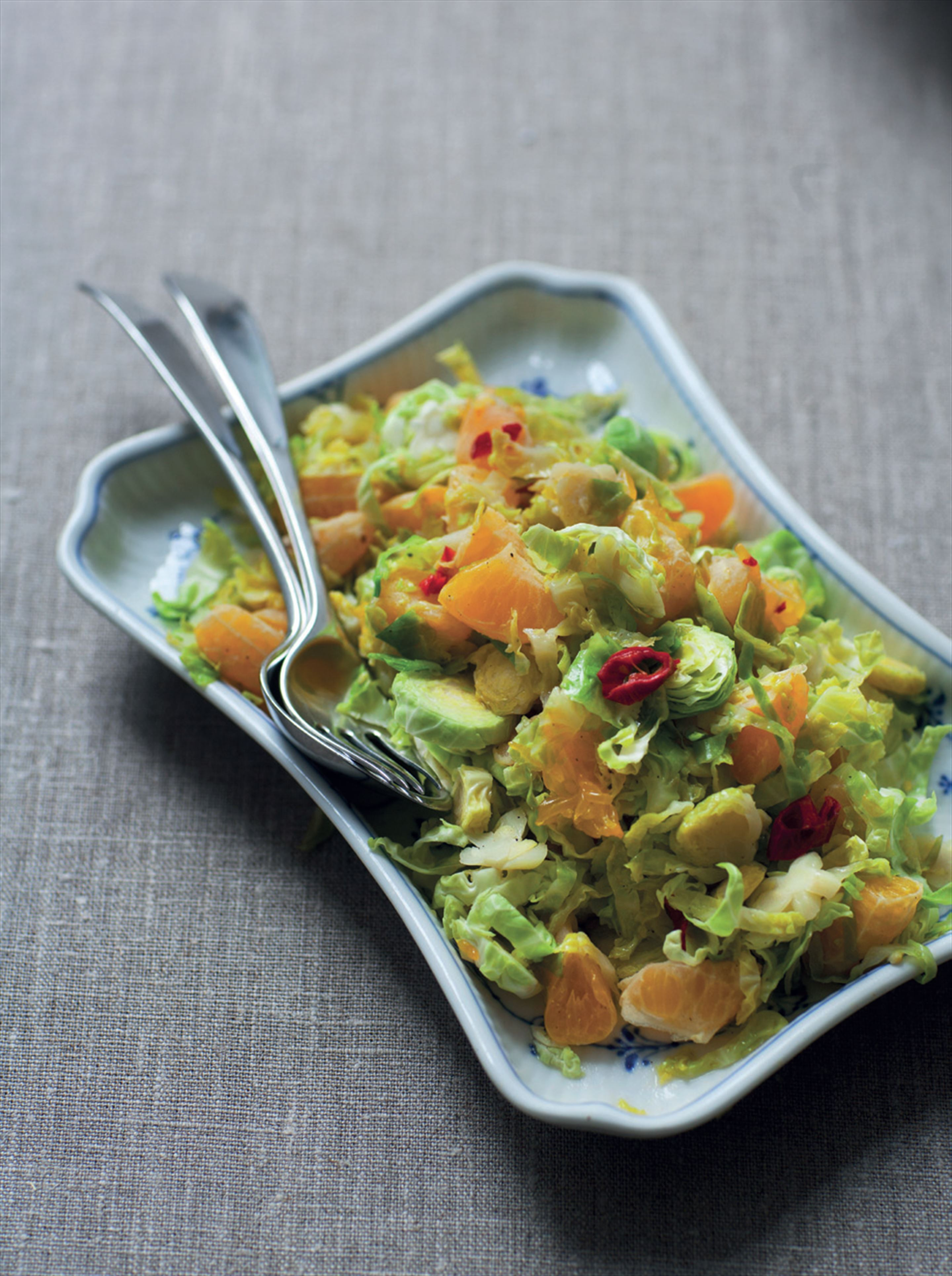Brussels sprouts with clementines