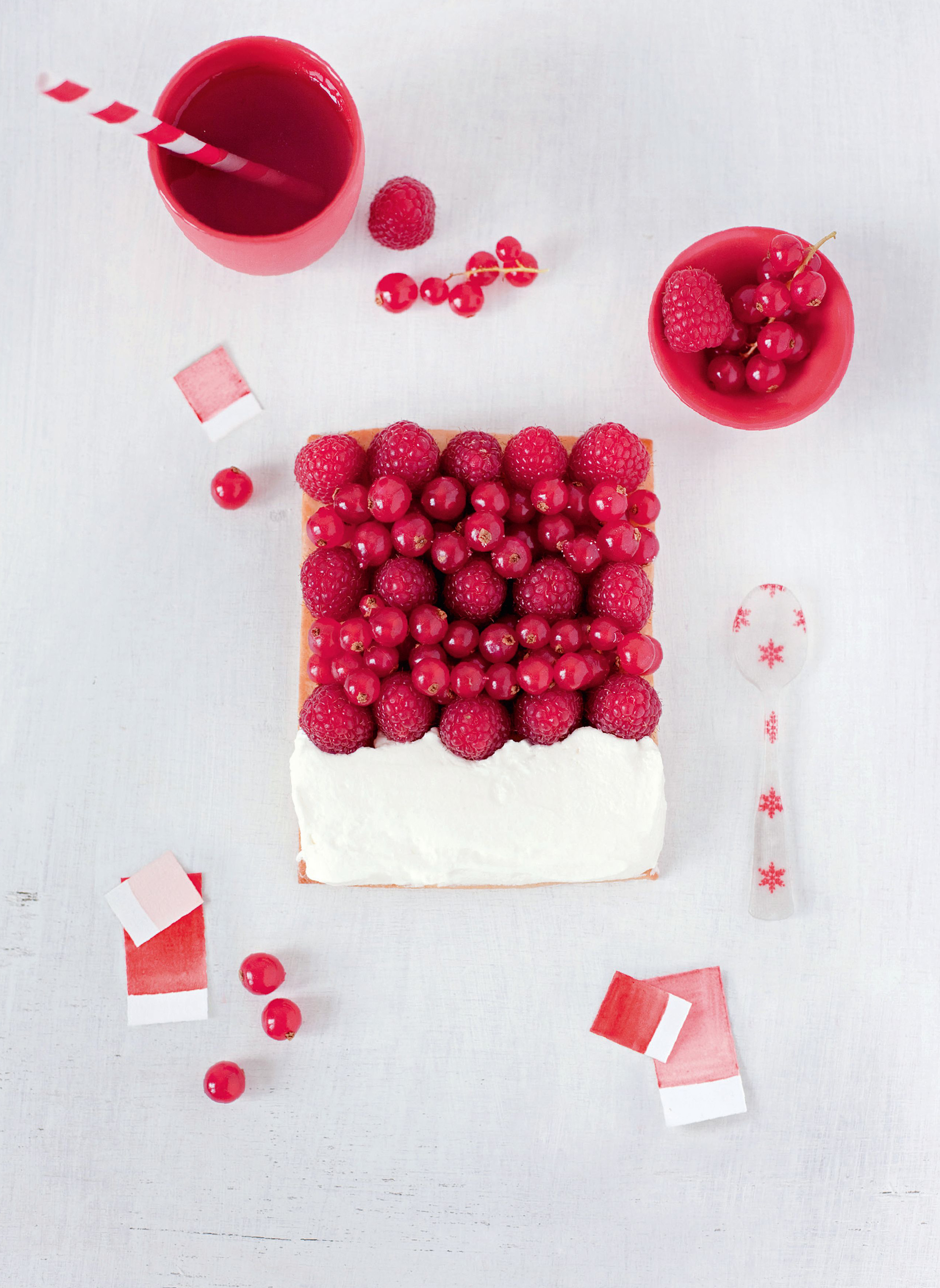 Red fruits – chantilly