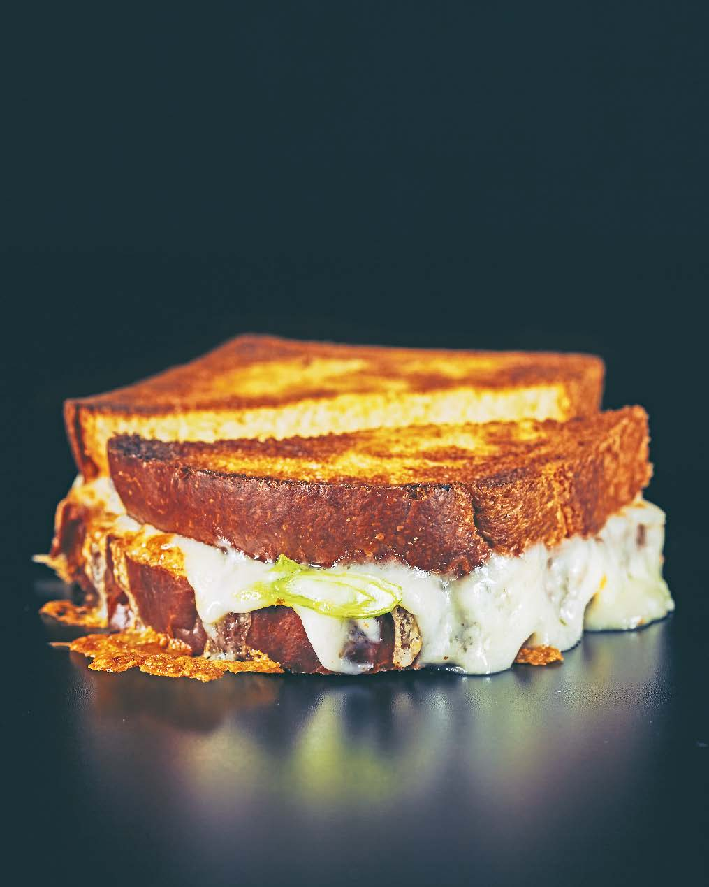Comforting old-school cheese toastie