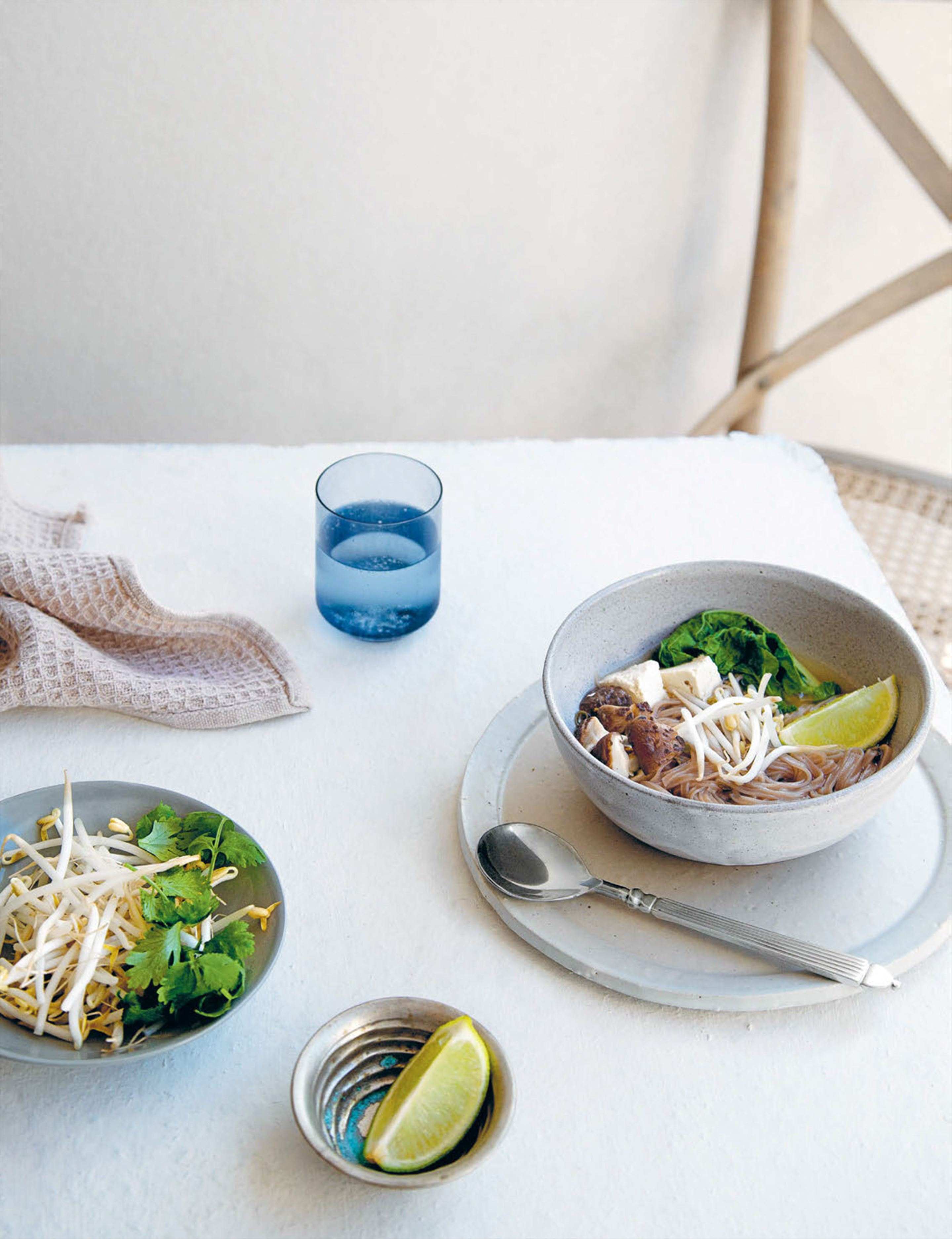 Ginger pho soup