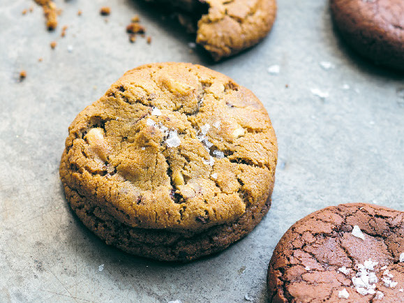 Rapadura and brazil nut cookies