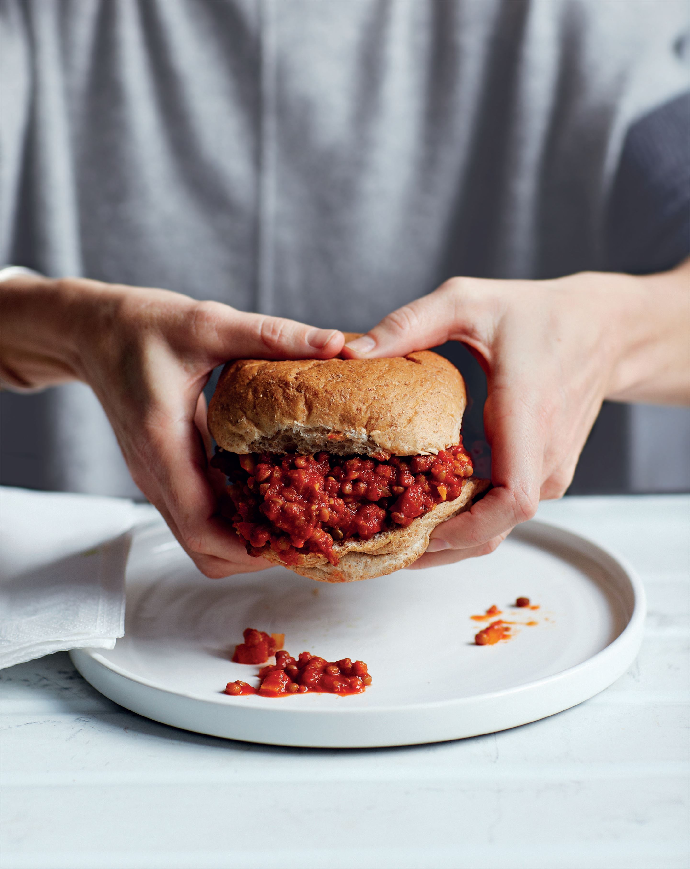Julie's sloppy joes