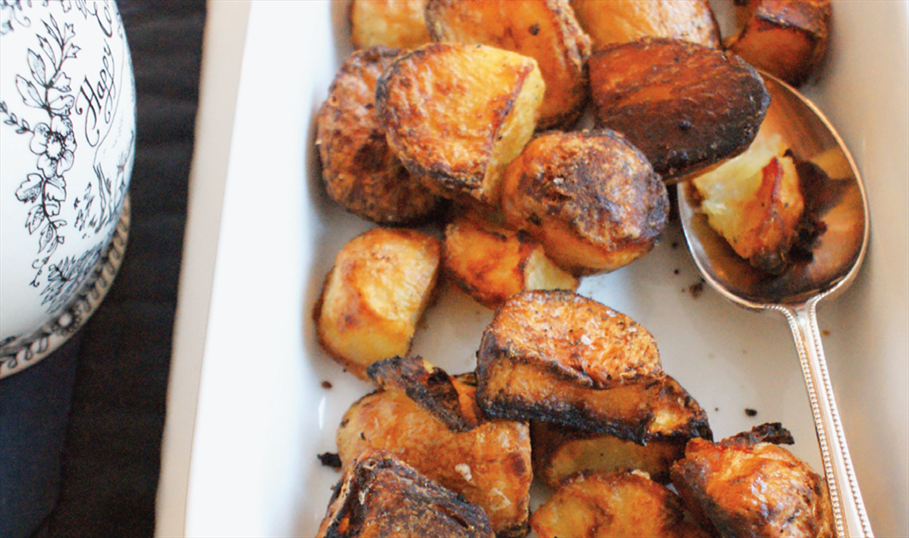 Ingrid's roast potatoes
