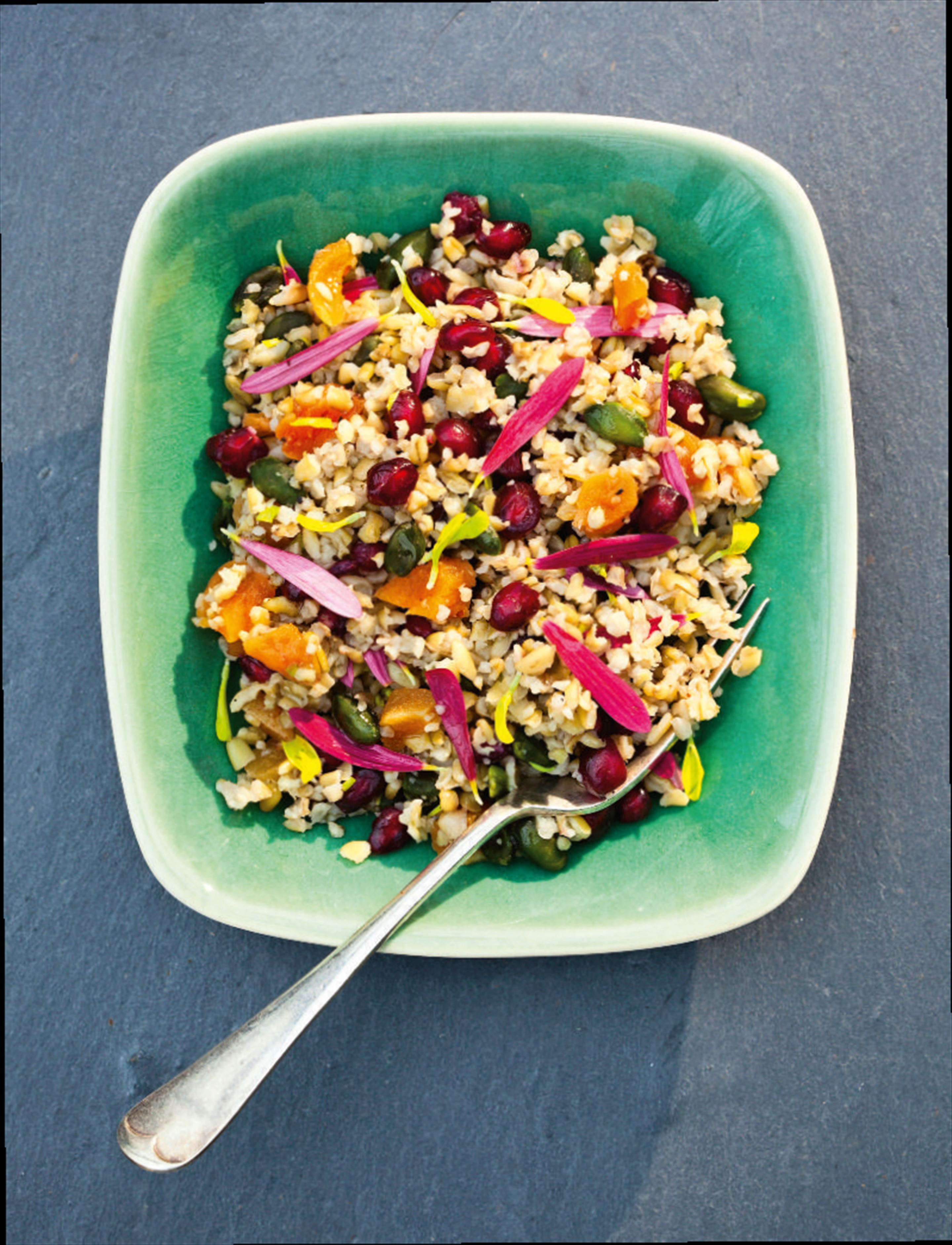 Jewelled freekeh