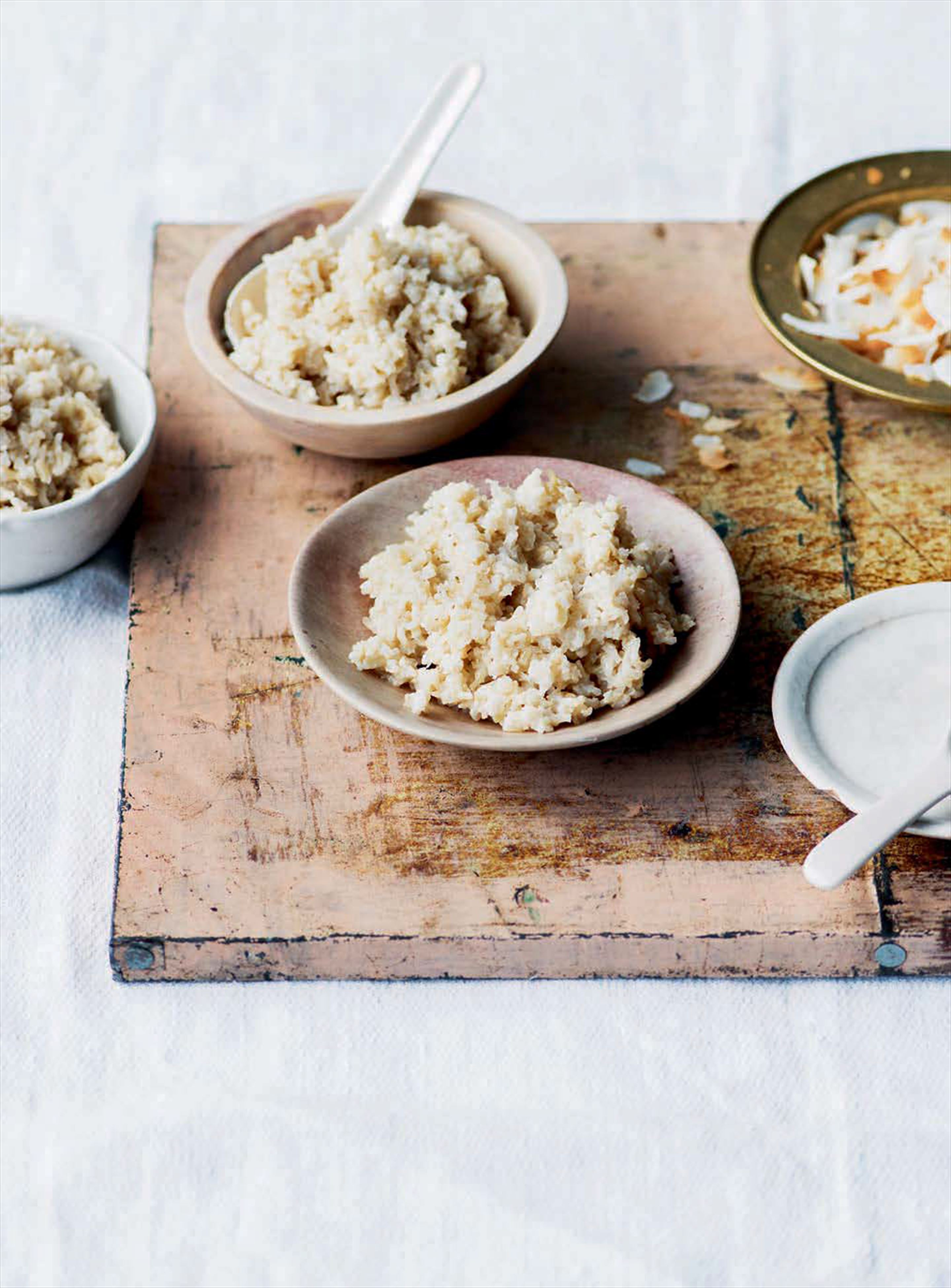 Asian-style coconut rice