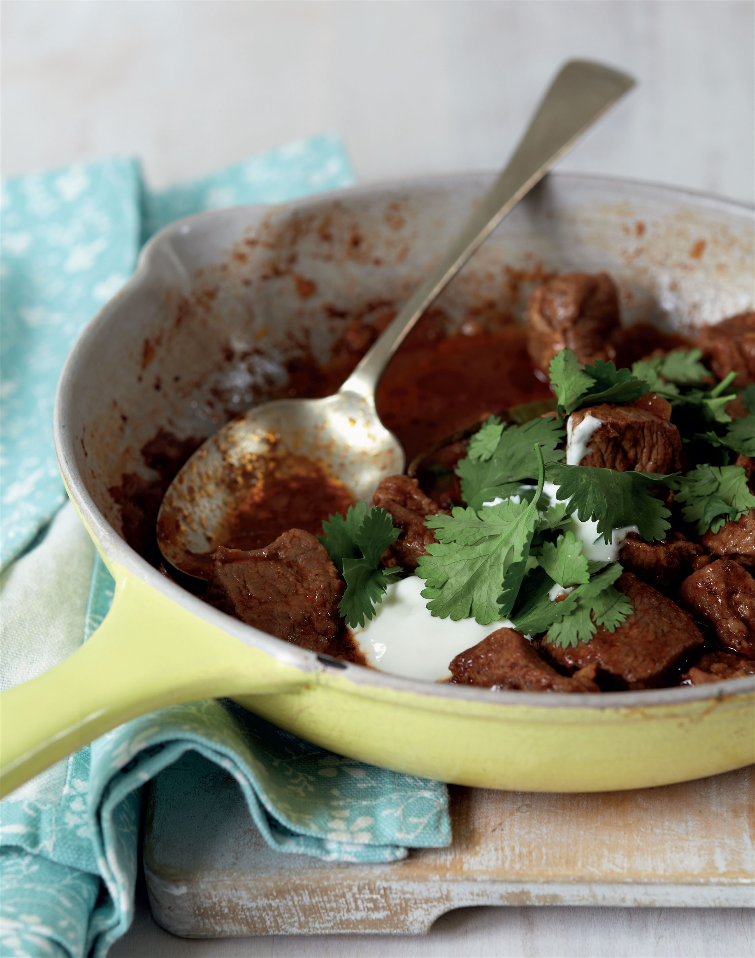 Easy 25-minute cardamom lamb