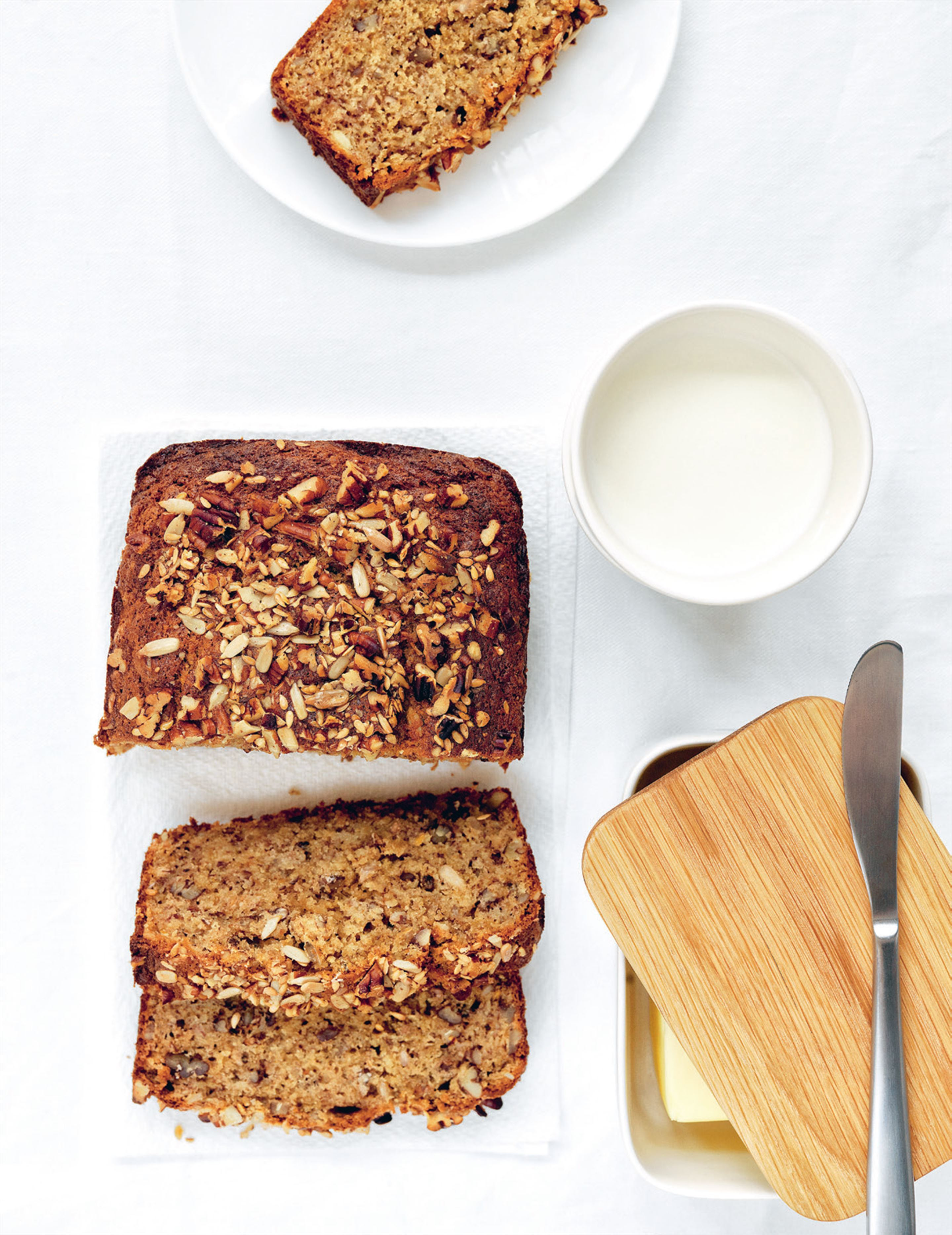 So-good-for-you banana cake