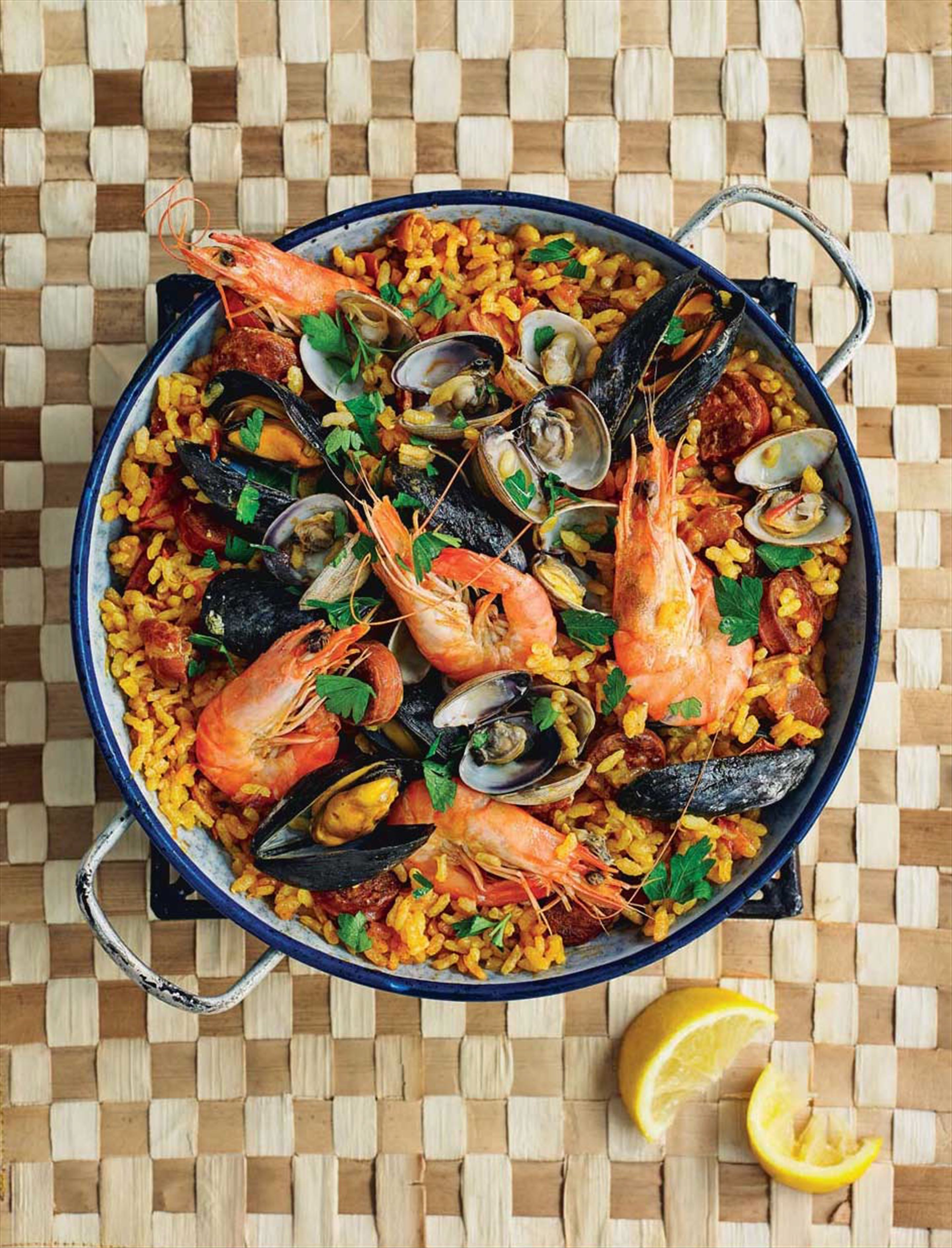 Spanish sea food rice