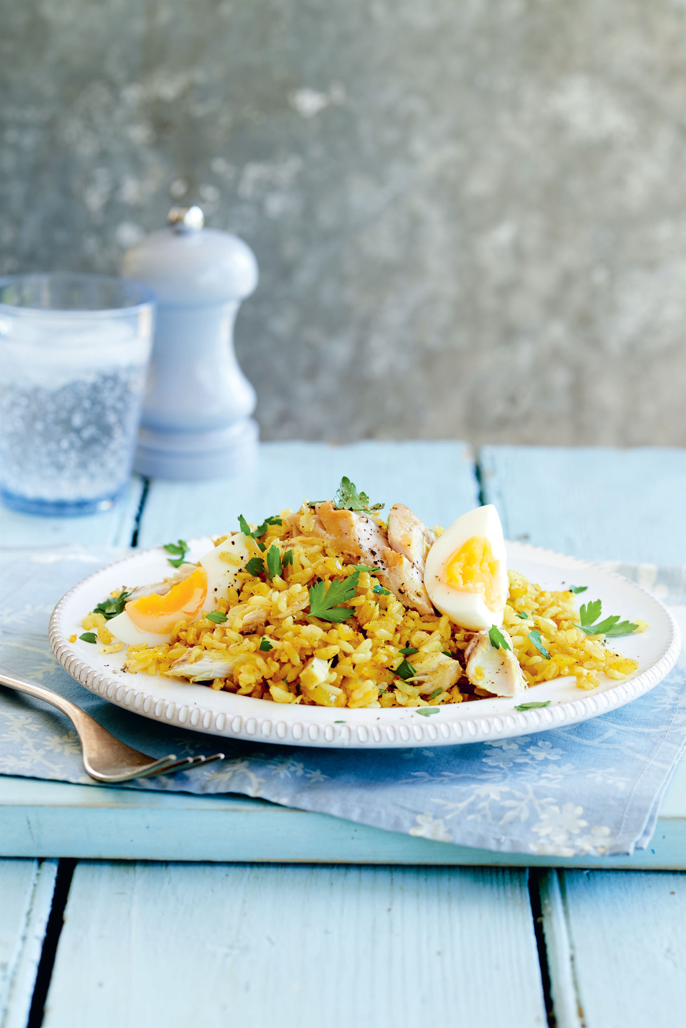 Brown rice kedgeree