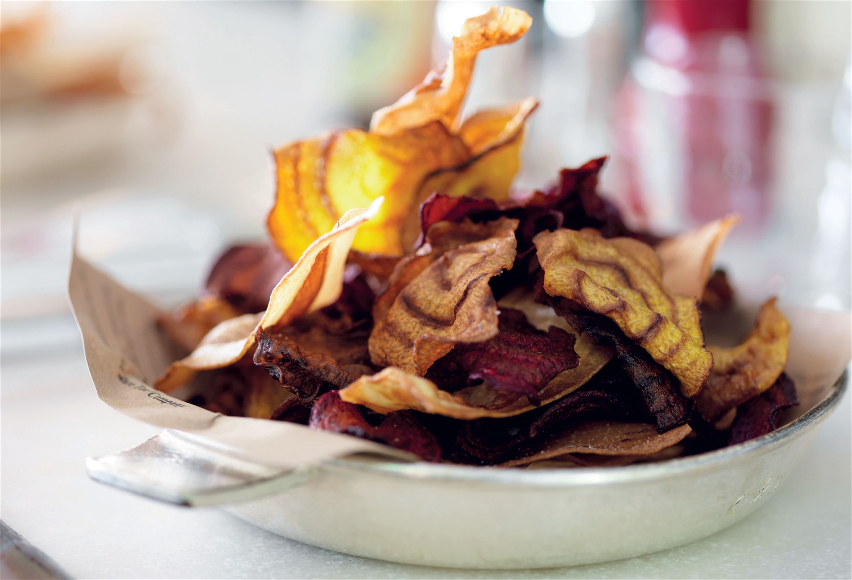 Vegetable crisps