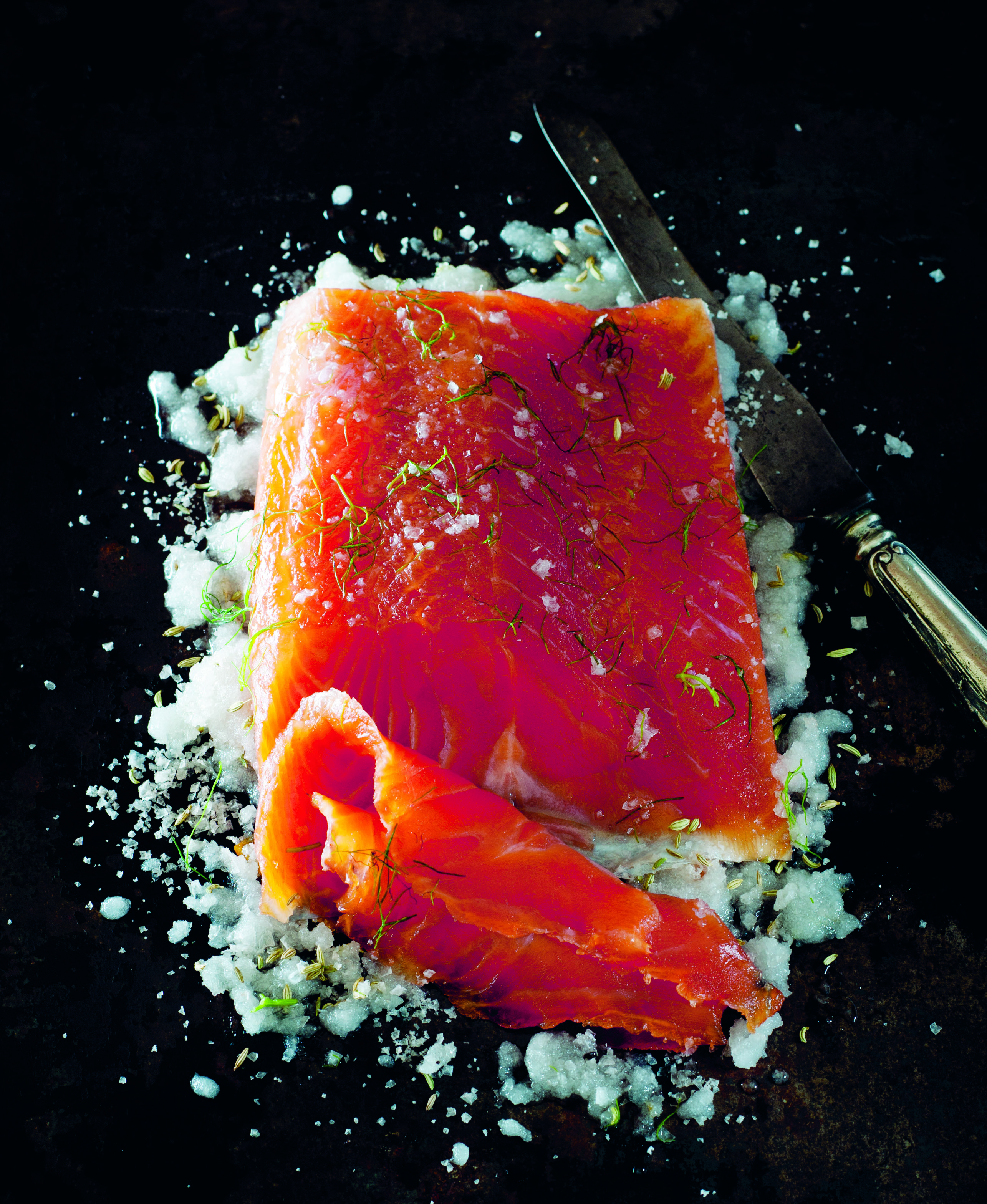Classic cold smoked salmon
