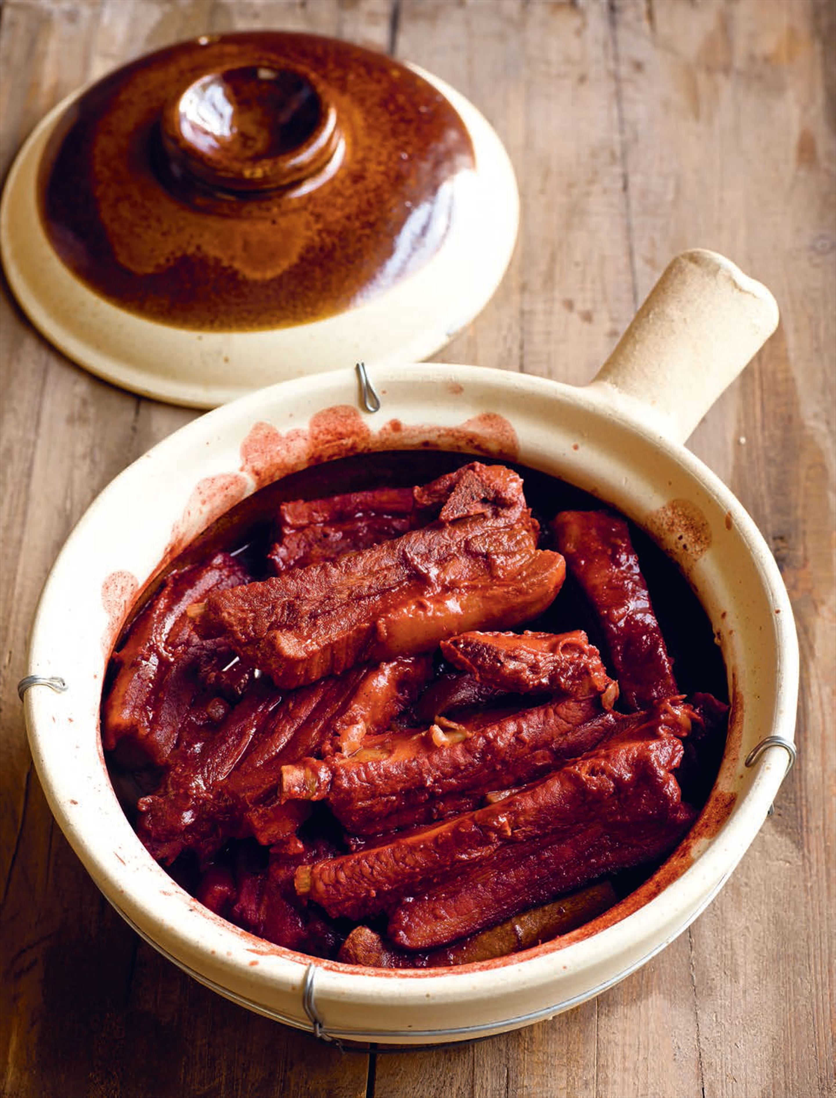 Tuzi's slow-cooked ribs with red fermented tofu