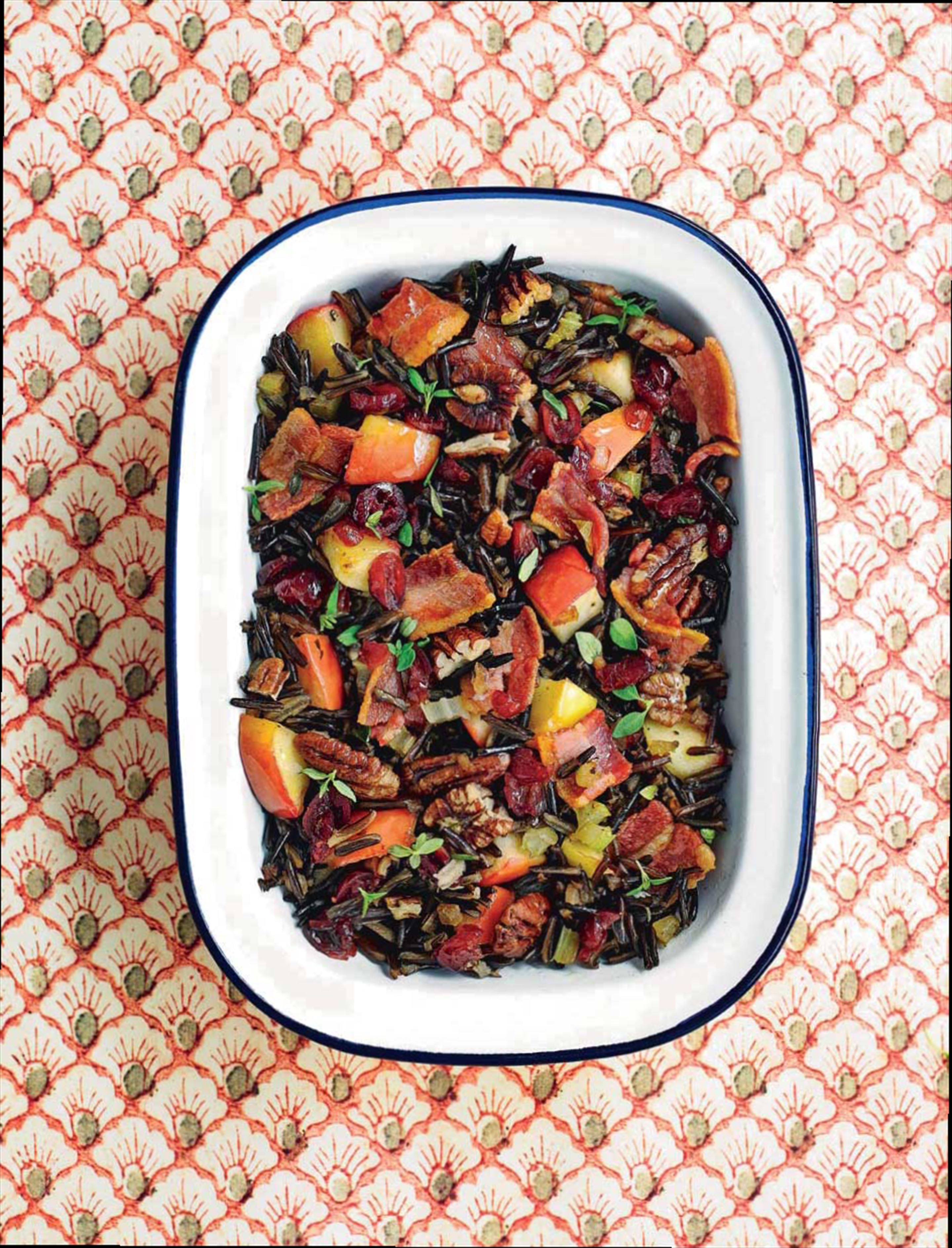 Wild rice & bacon stuffing