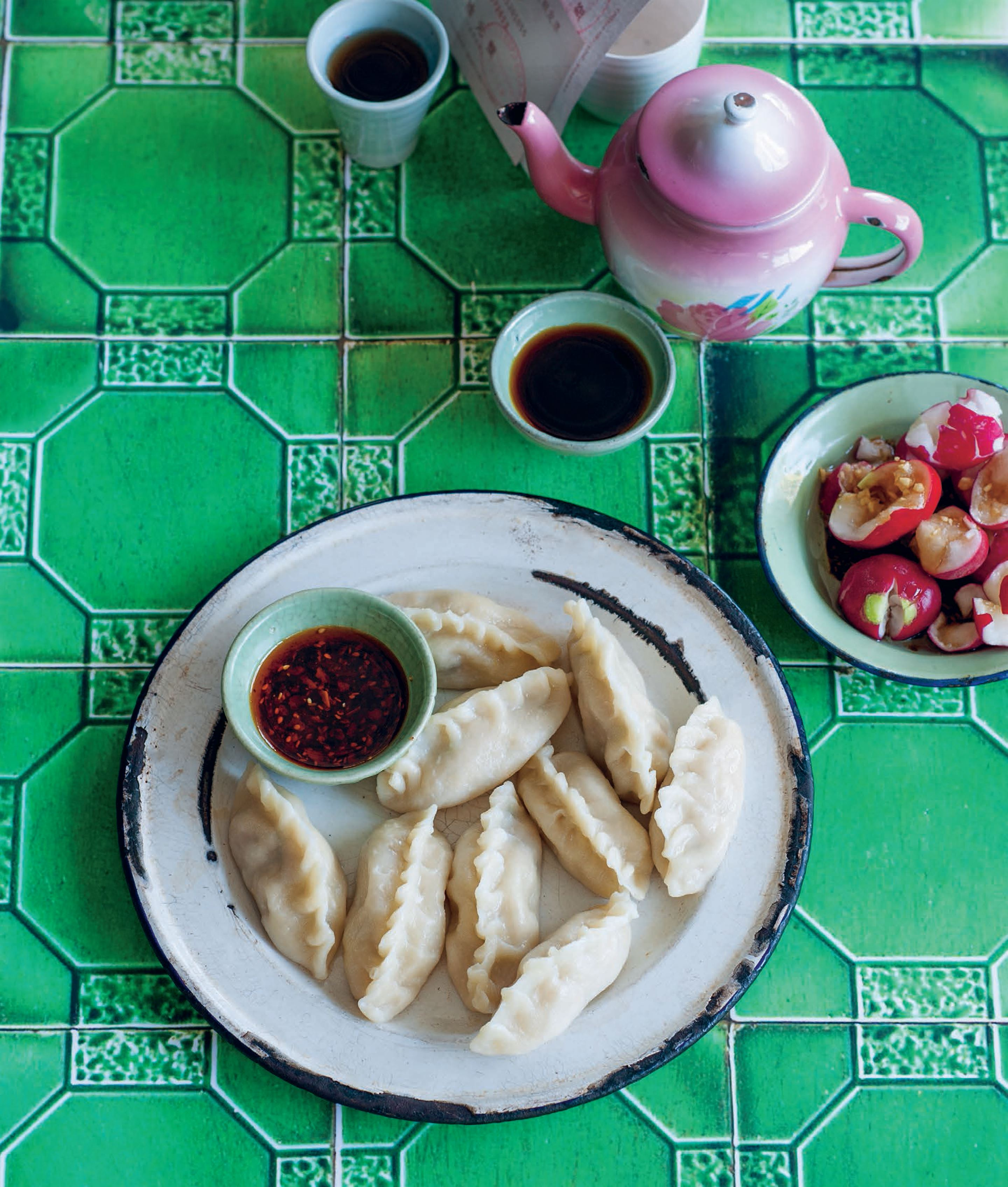 Cabbage and pork dumplings