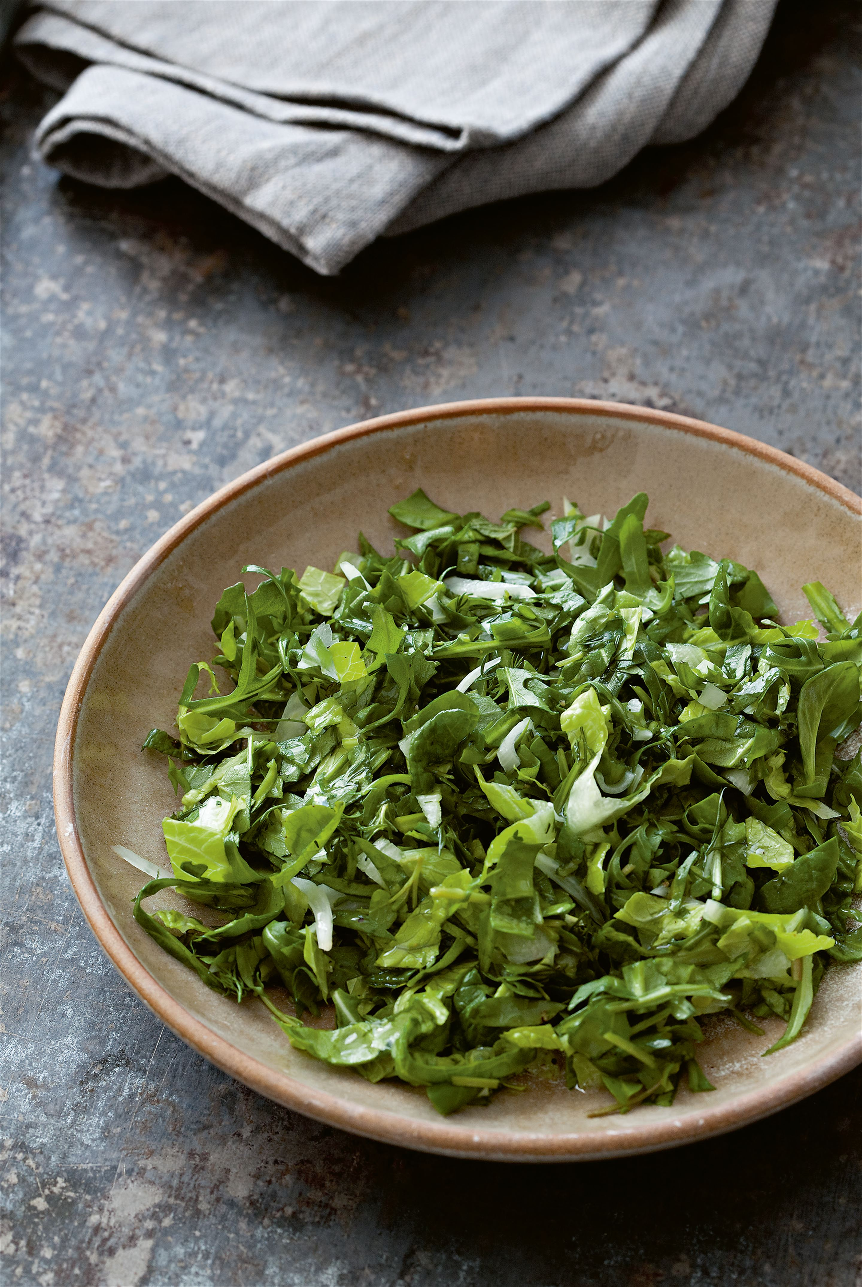 Green herb salad