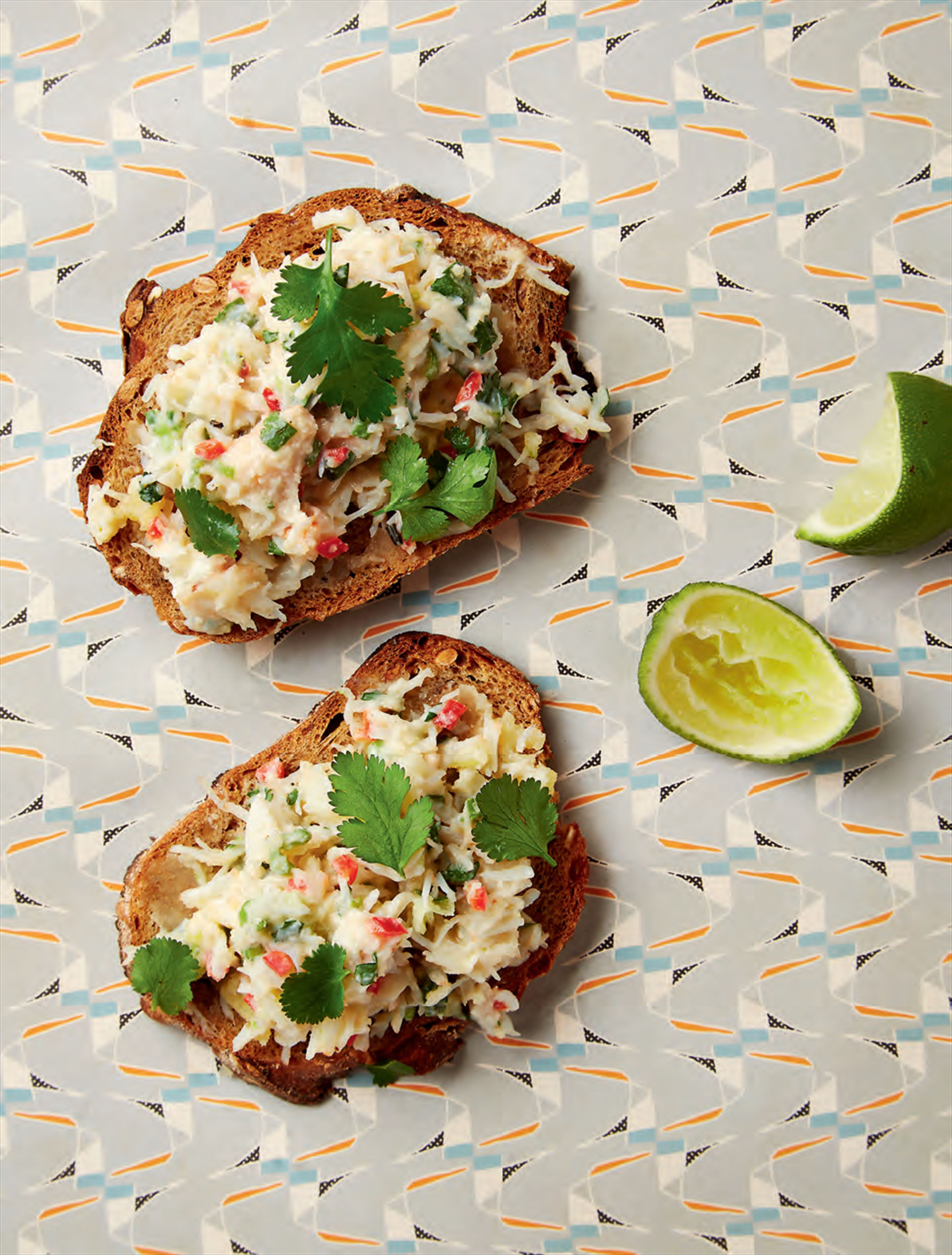 Spiced potted crab